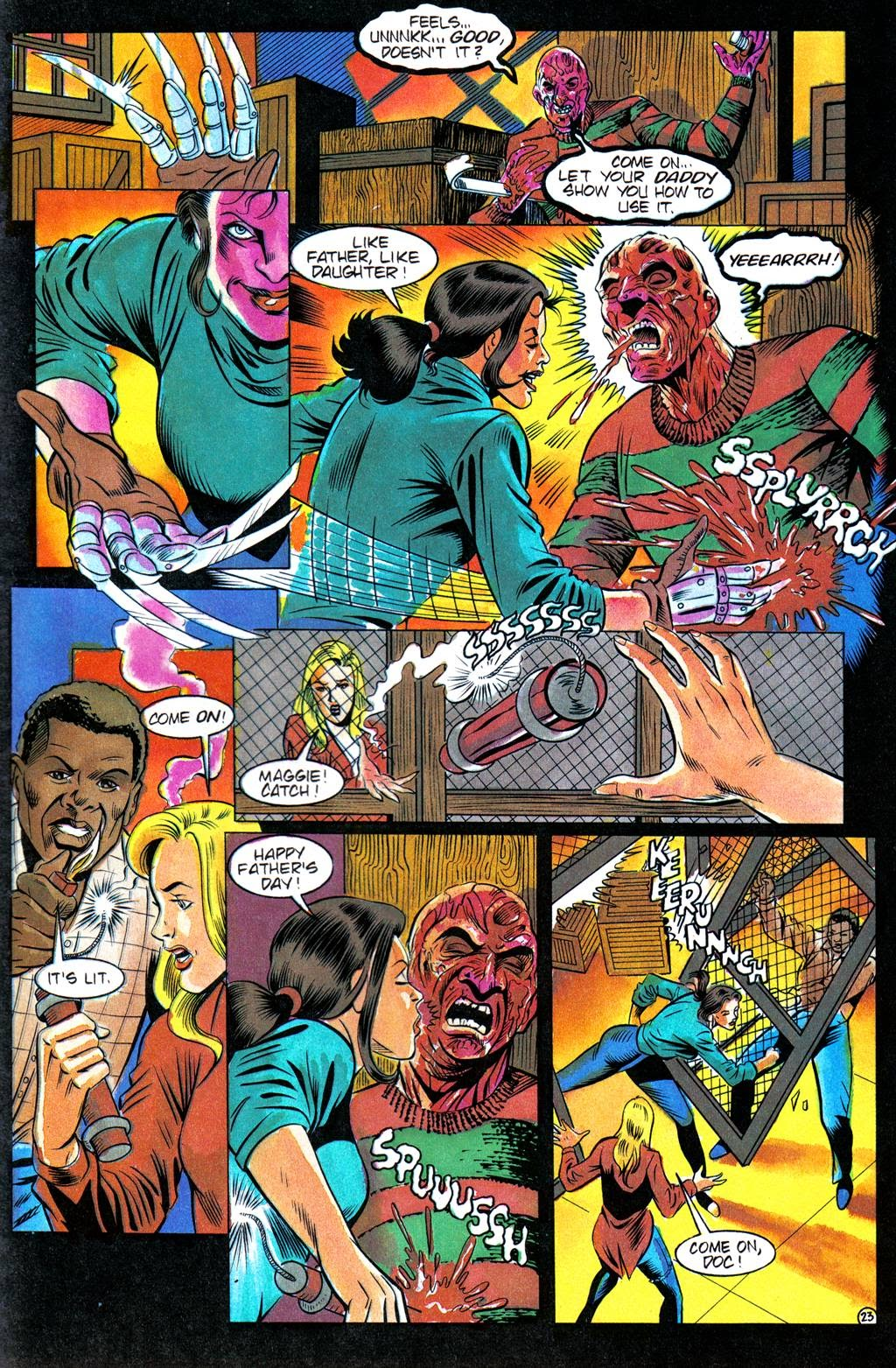 Read online Freddy's Dead: The Final Nightmare comic -  Issue #3 - 26