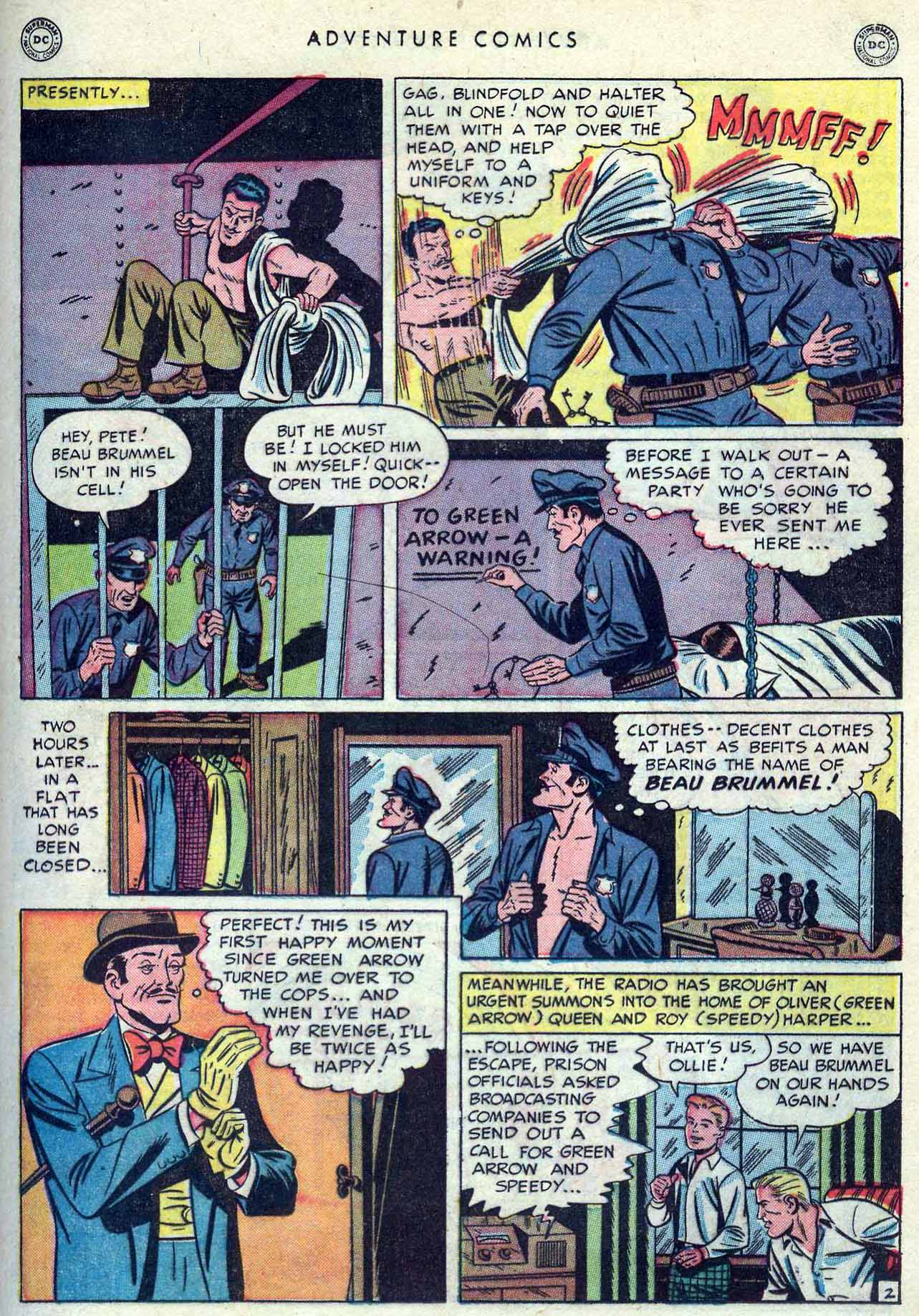 Read online Adventure Comics (1938) comic -  Issue #149 - 31