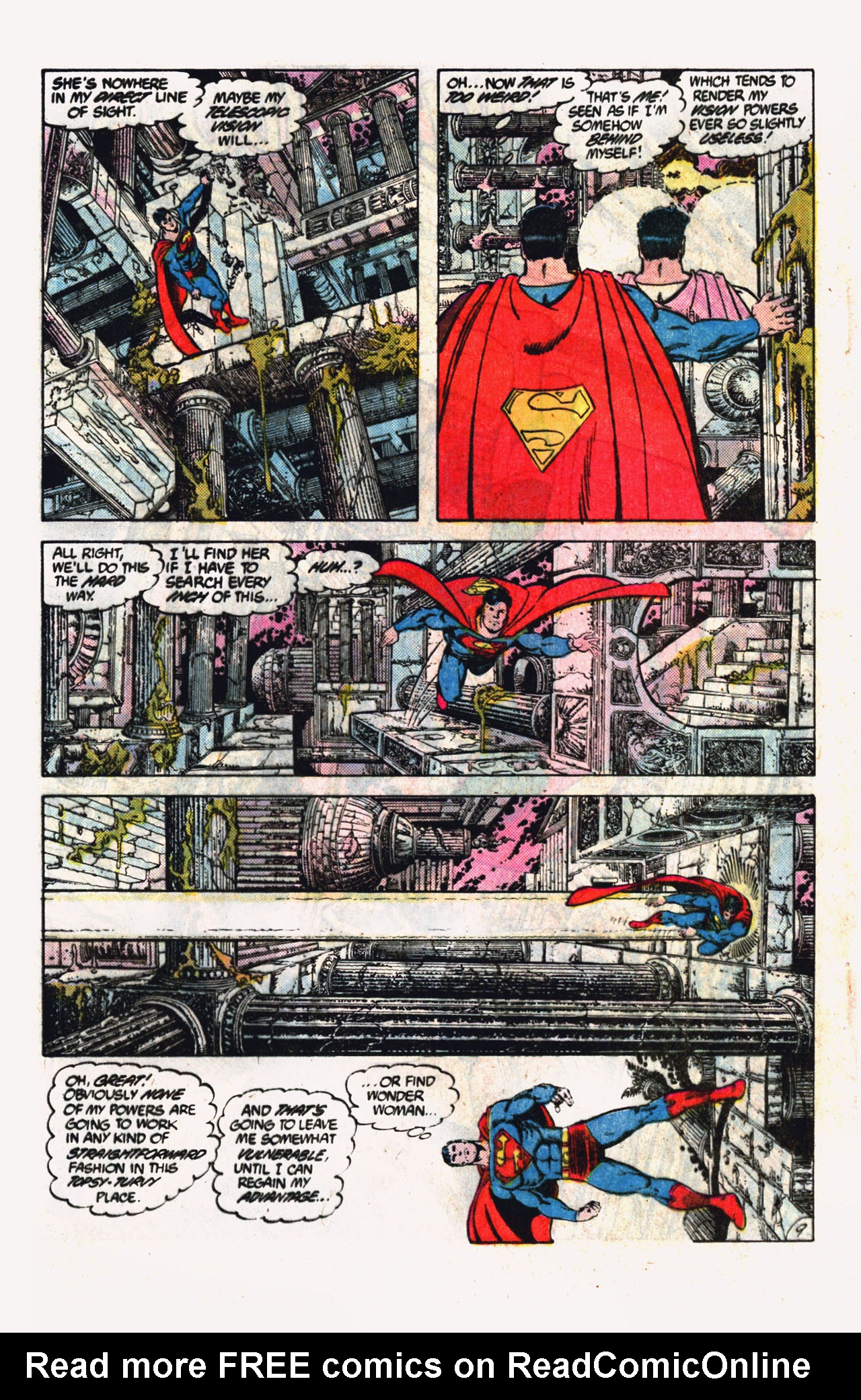 Read online Action Comics (1938) comic -  Issue #600 - 11