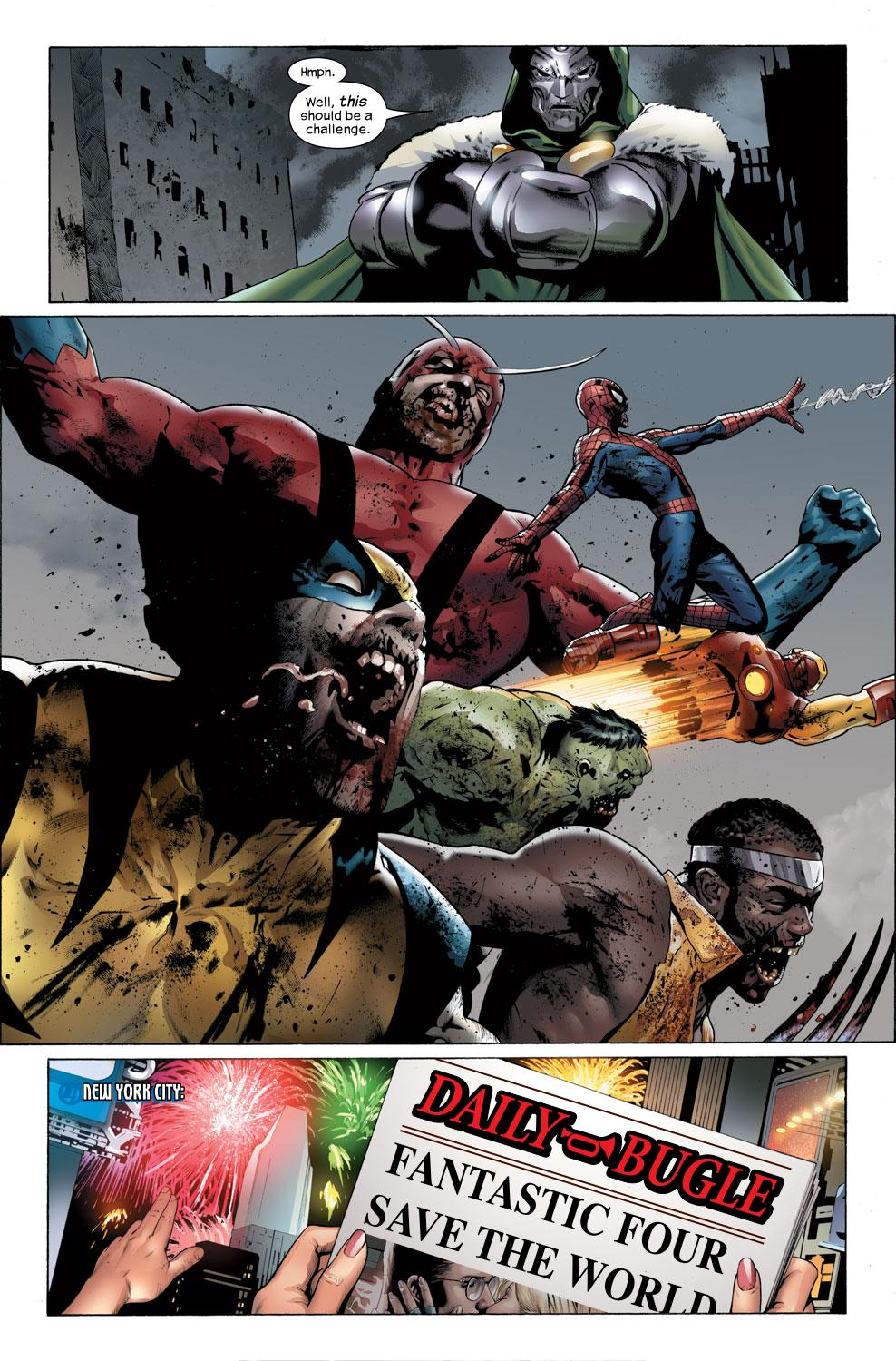 Read online Ultimate Fantastic Four (2004) comic -  Issue #32 - 22