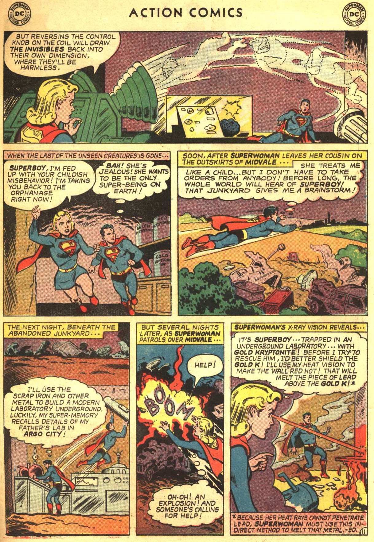 Read online Action Comics (1938) comic -  Issue #332 - 31