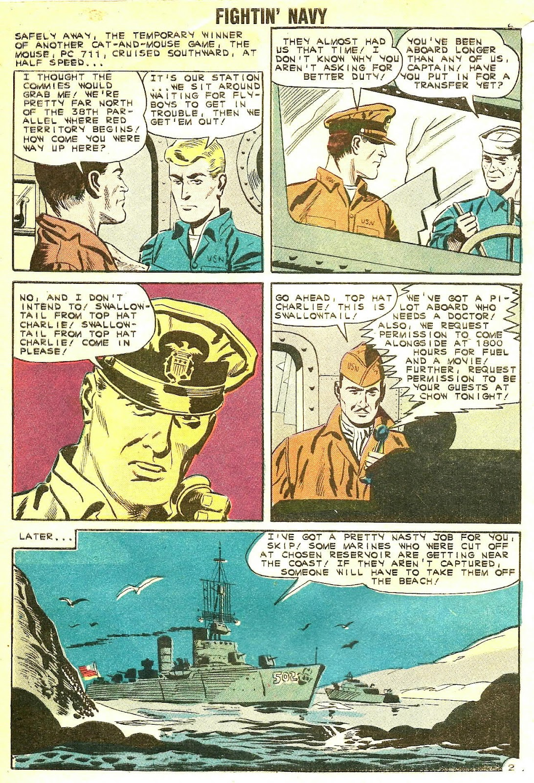 Read online Fightin' Navy comic -  Issue #102 - 4