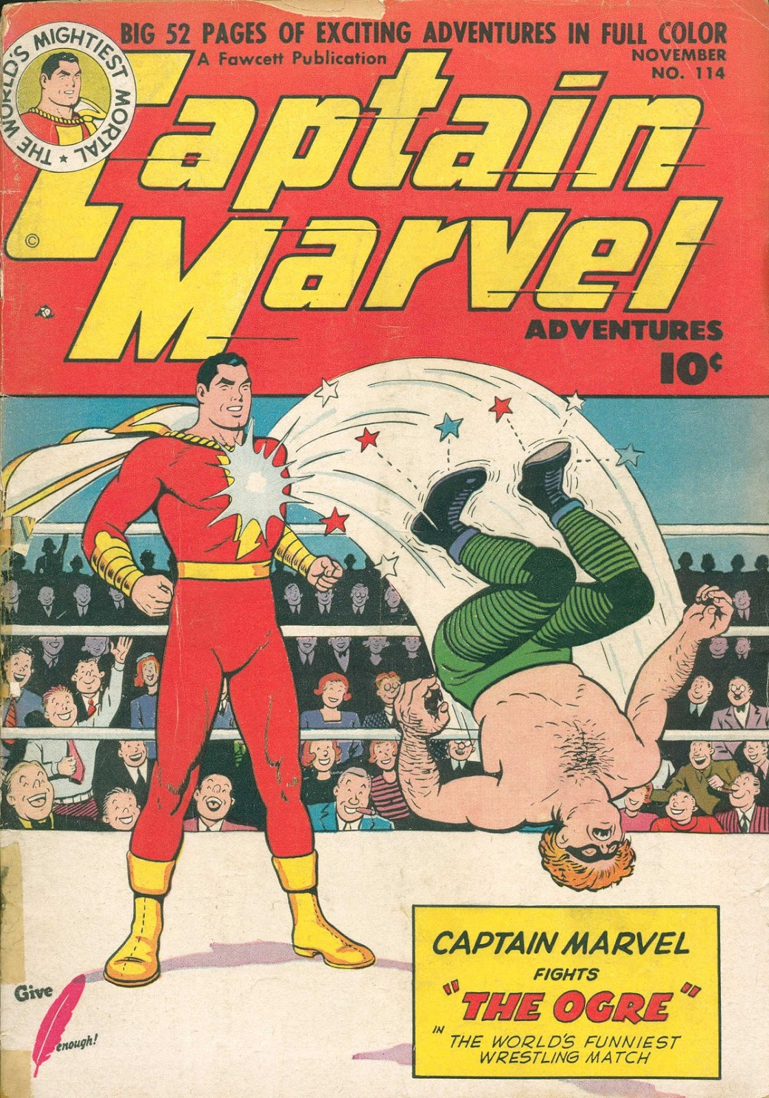 Captain Marvel Adventures 114 Page 1