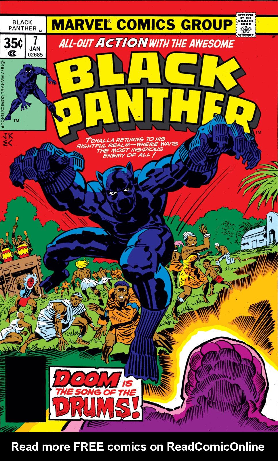 Black Panther (1977) 7 Page 1