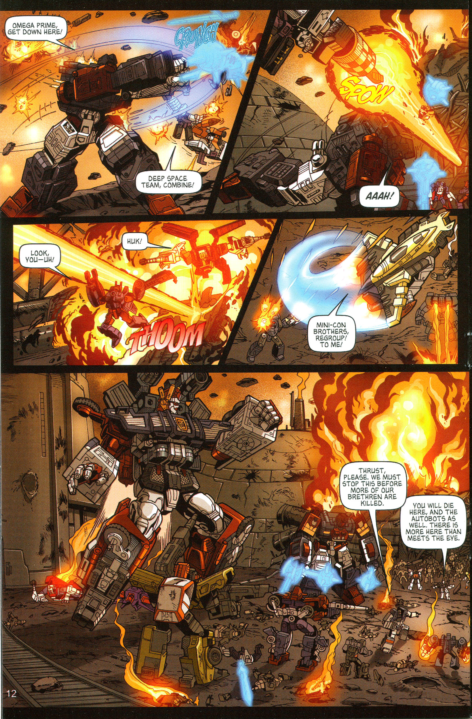Read online Transformers: Collectors' Club comic -  Issue #11 - 12