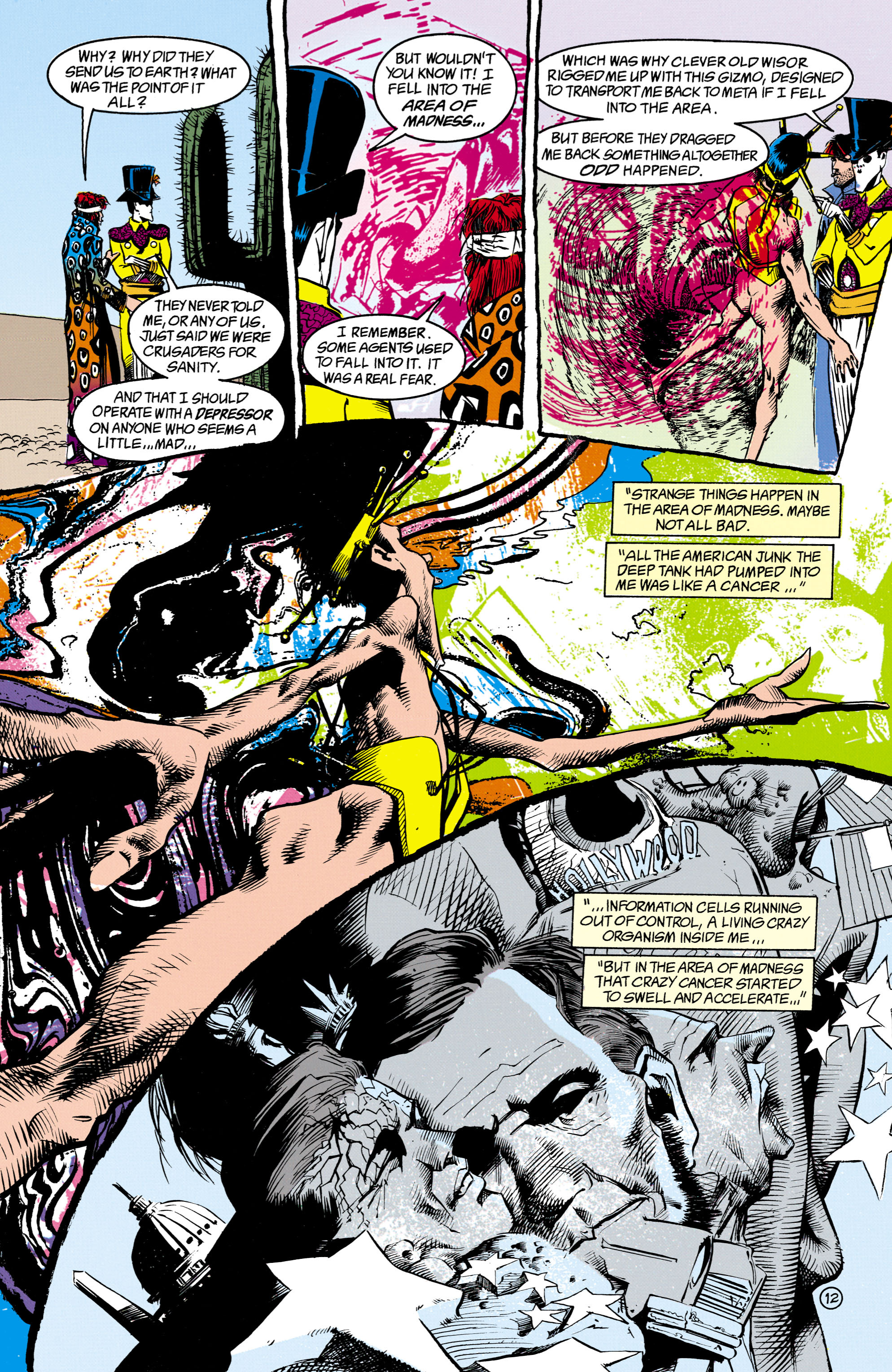 Read online Shade, the Changing Man comic -  Issue #16 - 12