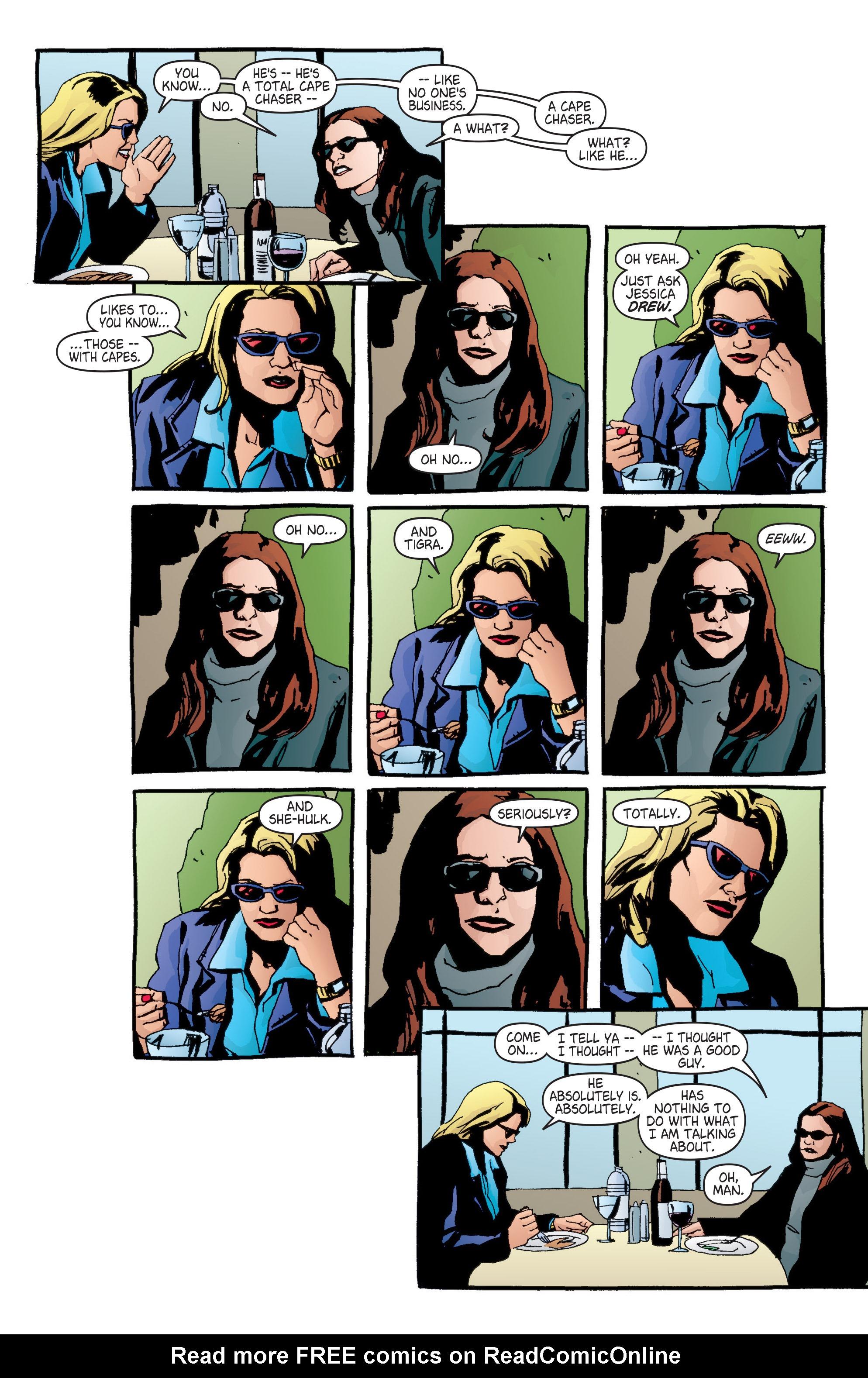 Read online Alias comic -  Issue #6 - 6