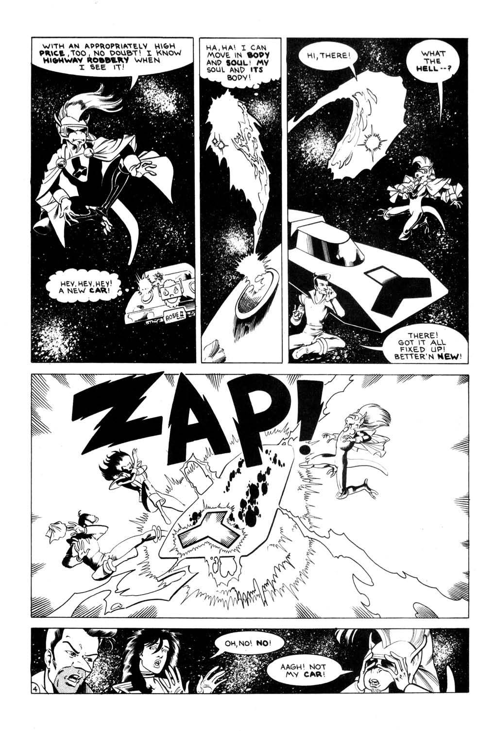 Aristocratic Xtraterrestrial Time-Traveling Thieves issue 7 - Page 6
