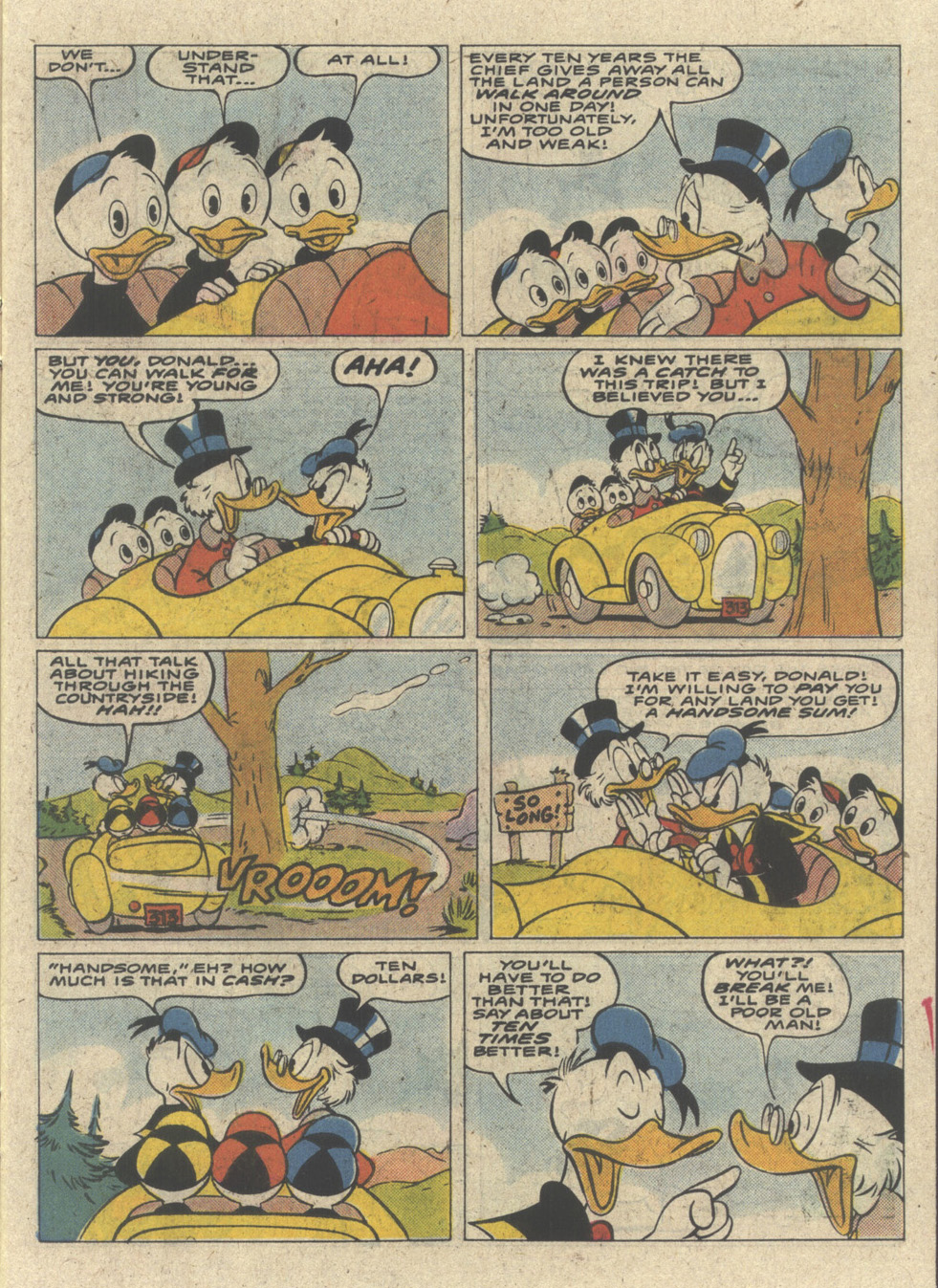 Read online Uncle Scrooge (1953) comic -  Issue #227 - 7