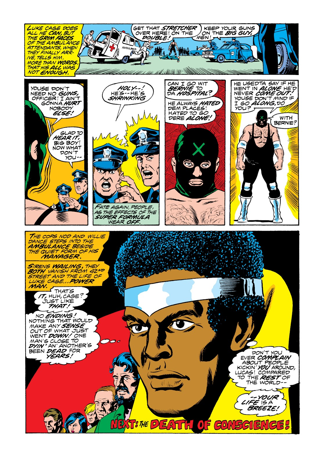 Read online Marvel Masterworks: Luke Cage, Power Man comic -  Issue # TPB 2 (Part 3) - 19