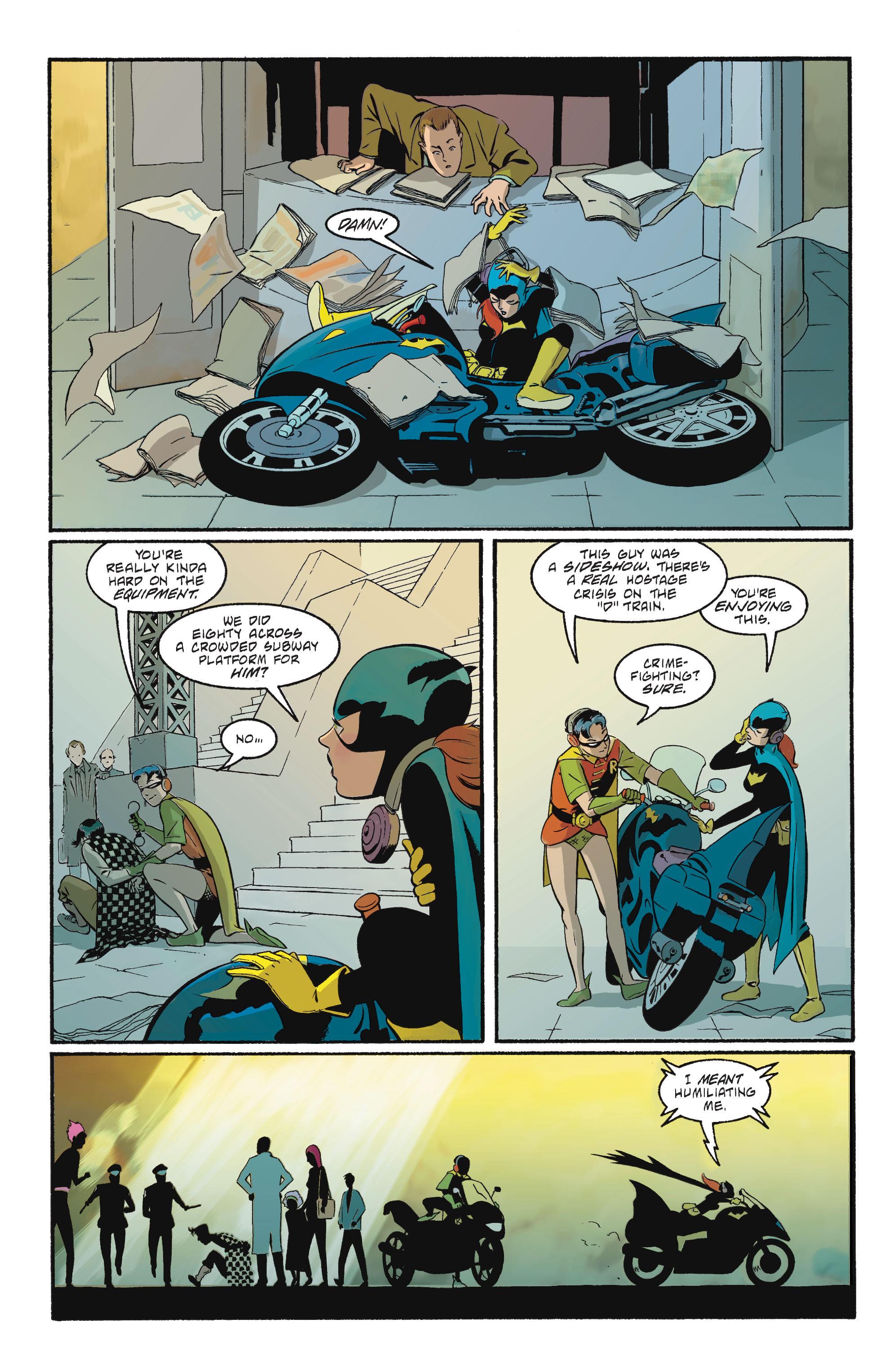 Read online Batgirl/Robin: Year One comic -  Issue # TPB 2 - 159