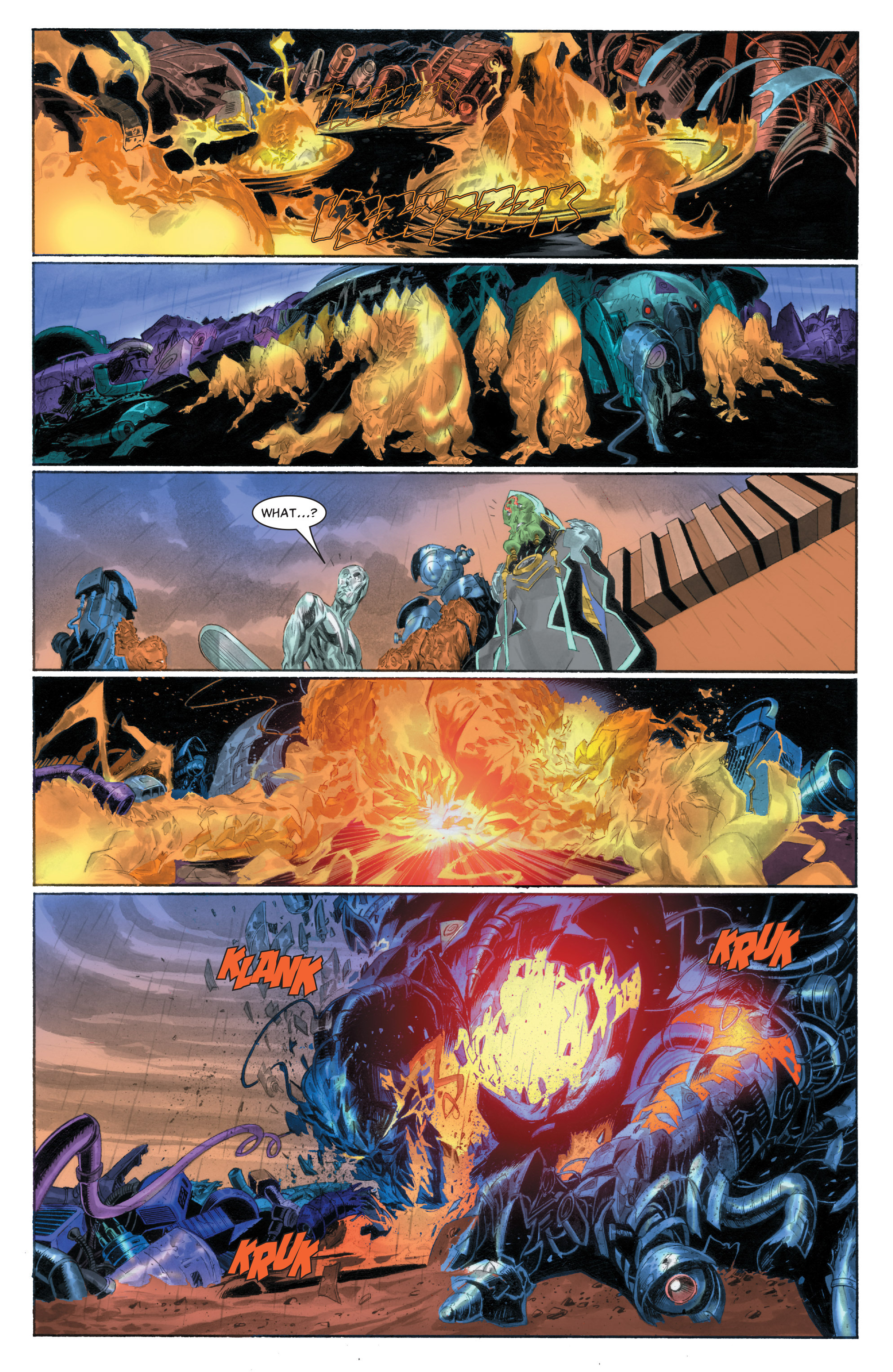 Read online Silver Surfer: In Thy Name comic -  Issue #1 - 20