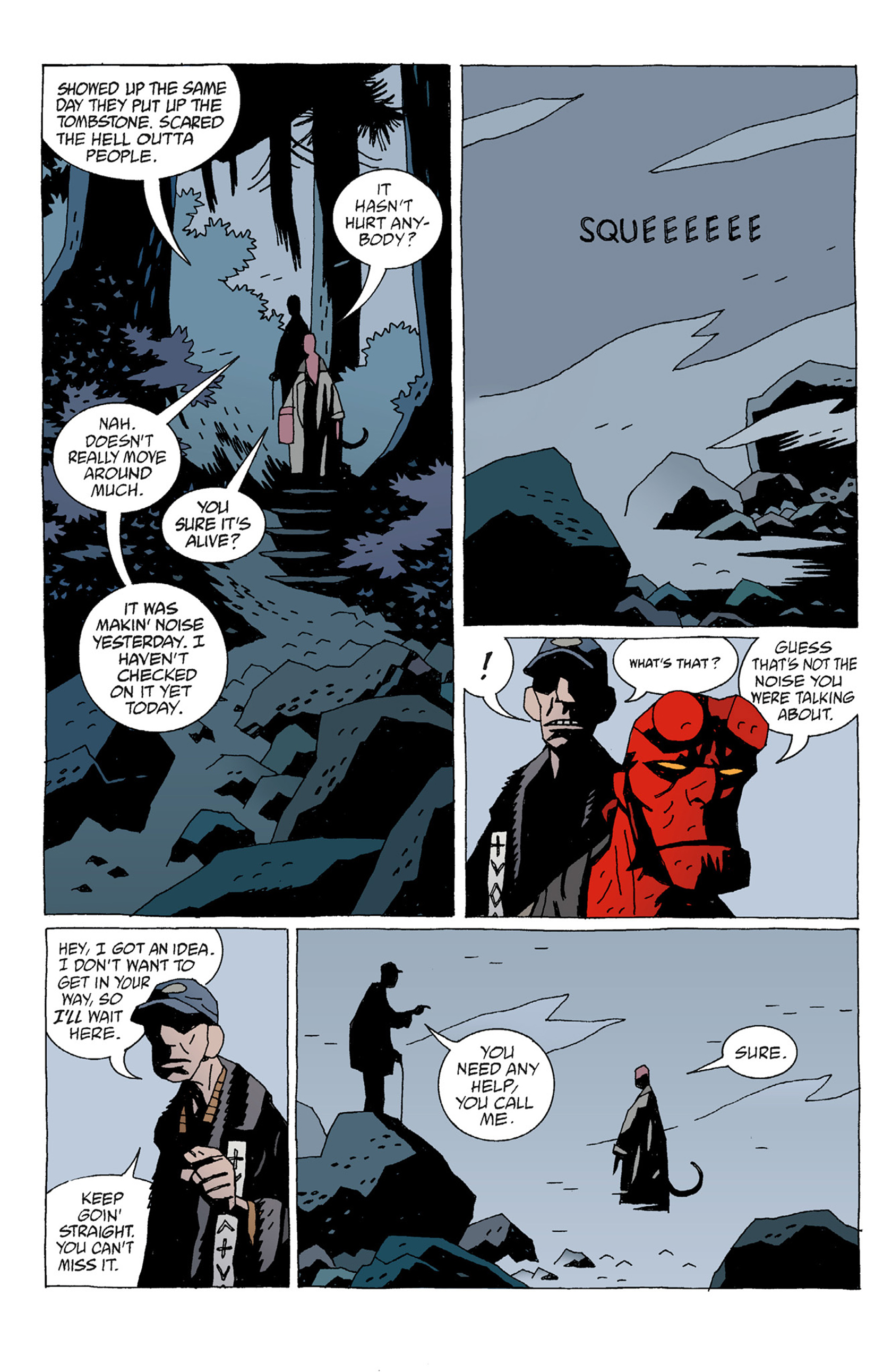 Read online Hellboy: The Troll Witch and Others comic -  Issue # TPB - 18