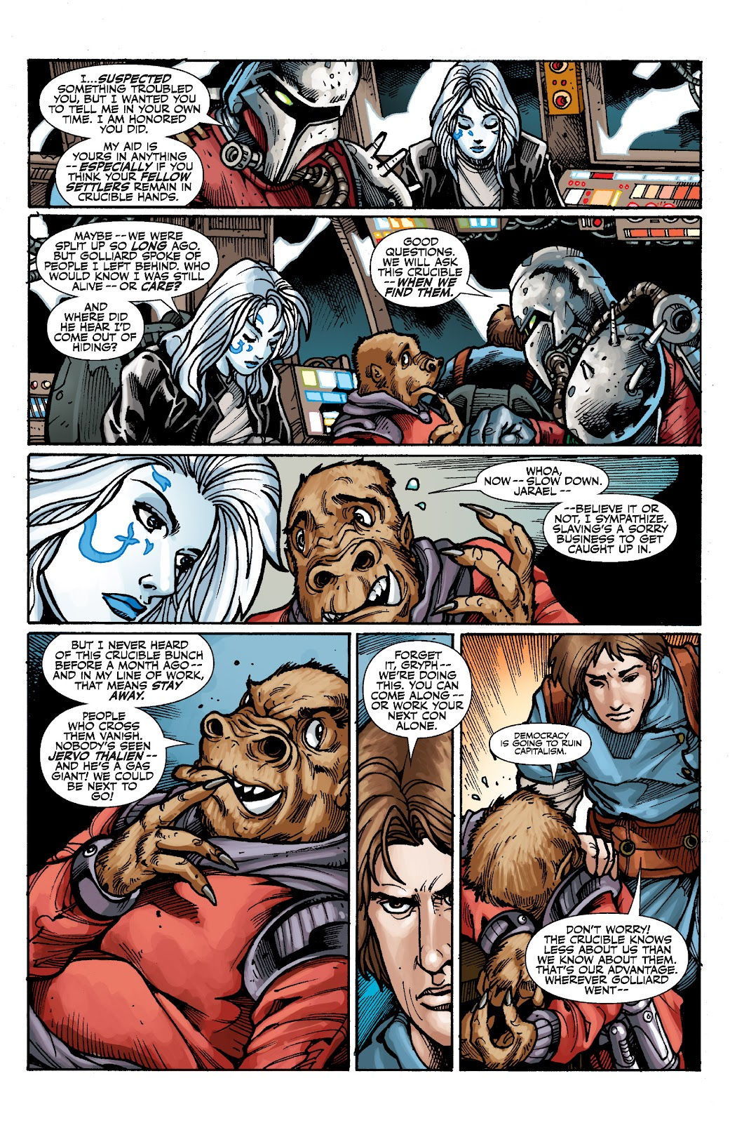 Read online Star Wars Legends: The Old Republic - Epic Collection comic -  Issue # TPB 3 (Part 2) - 63