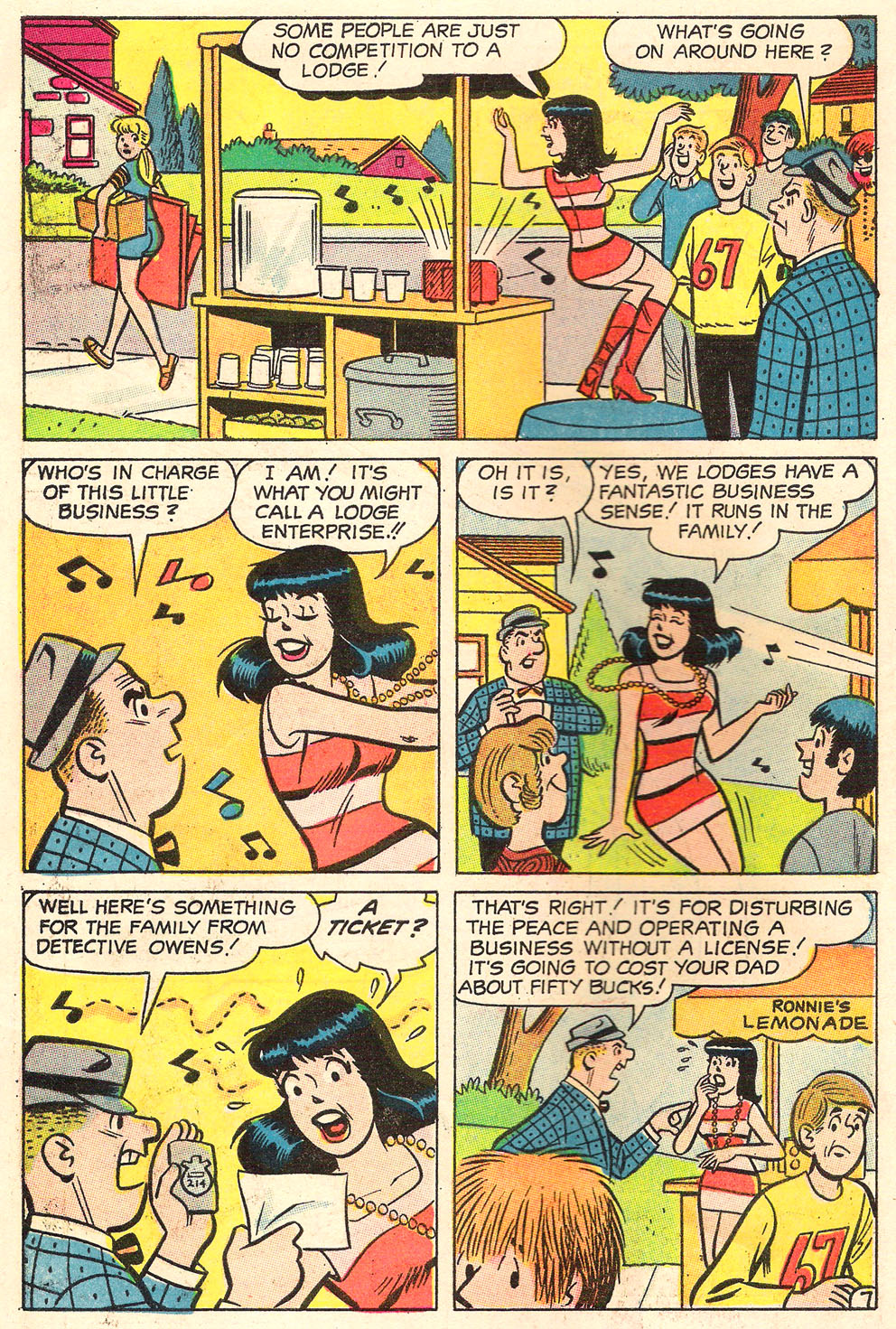 Read online Archie's Girls Betty and Veronica comic -  Issue #155 - 10