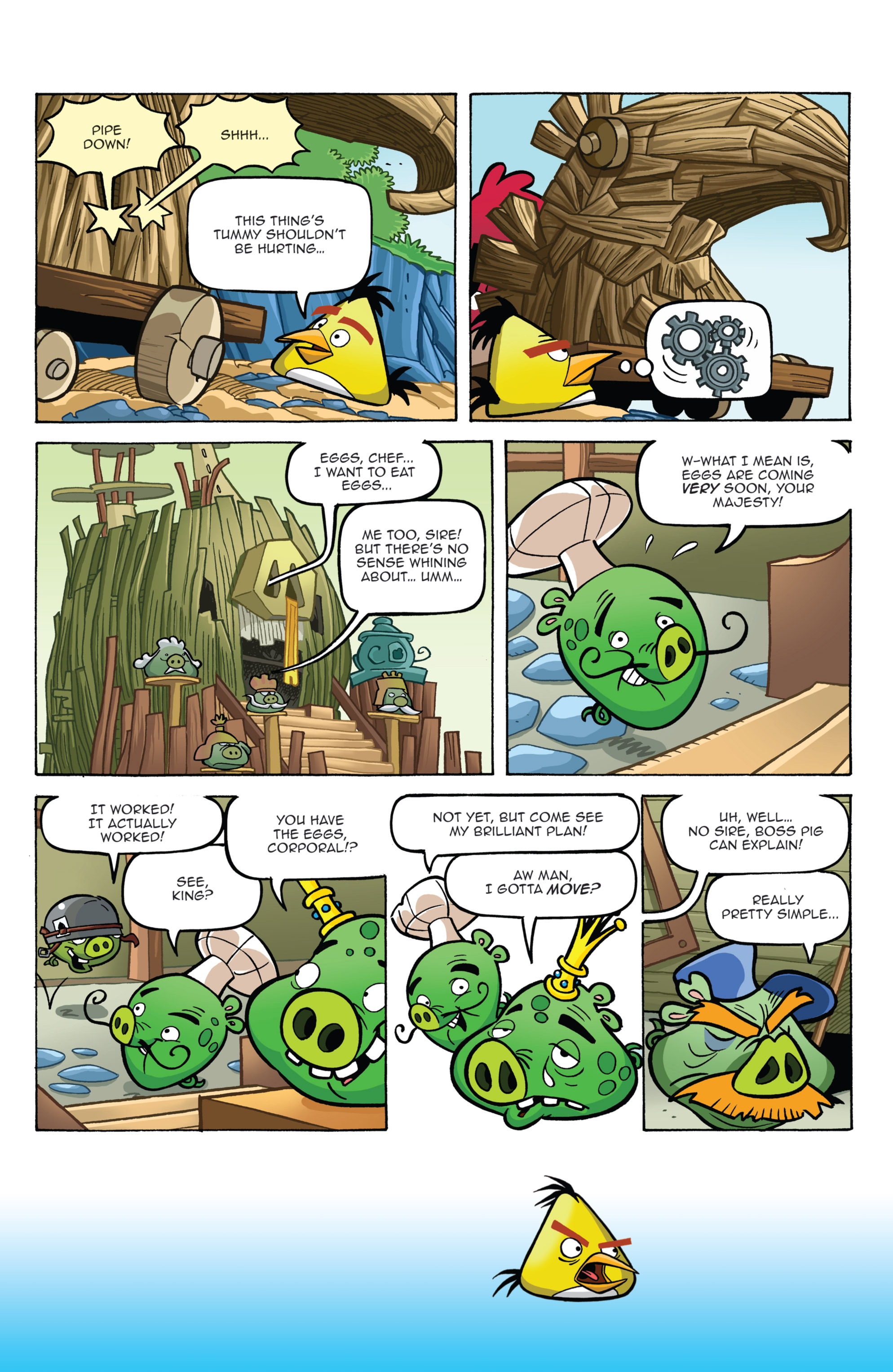 Read online Angry Birds Comics (2014) comic -  Issue #2 - 10