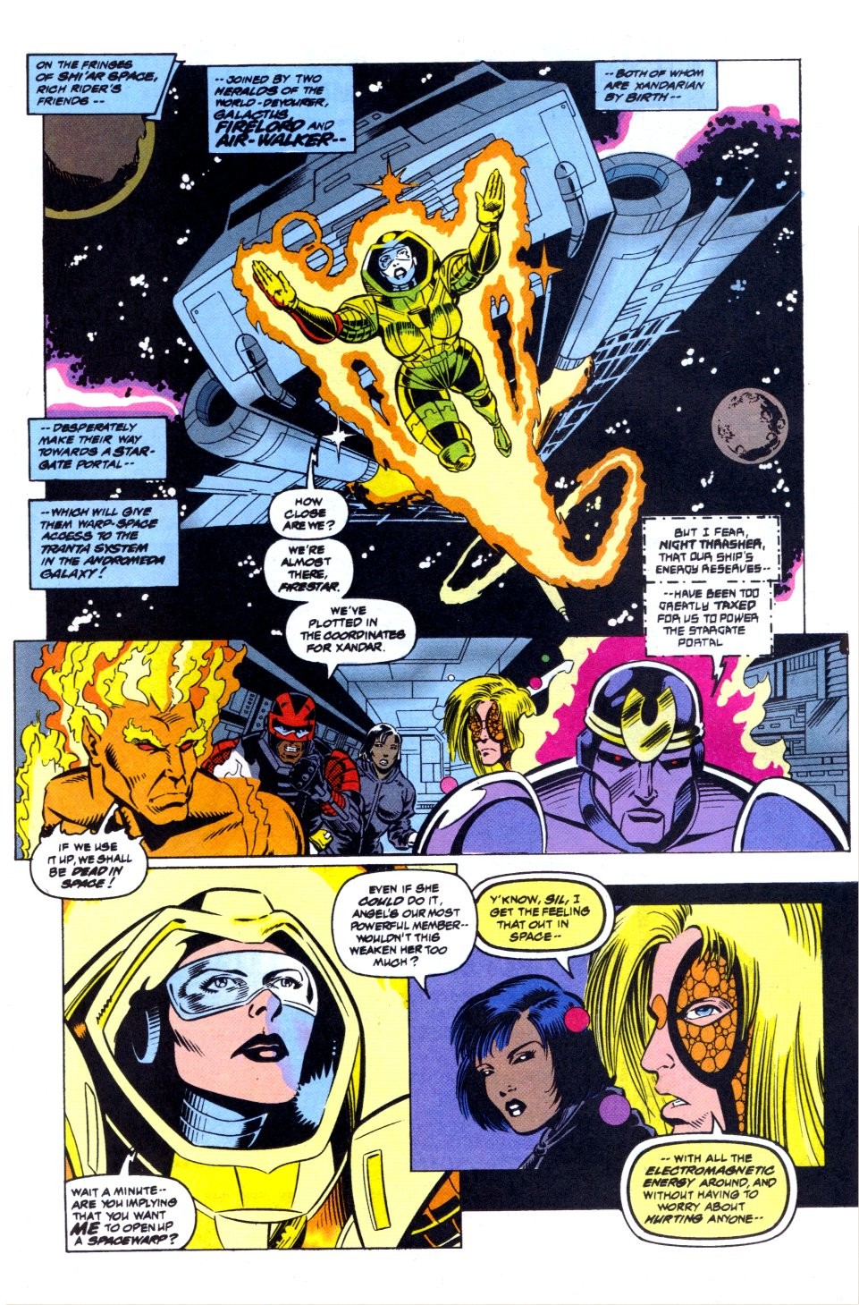 The New Warriors Issue #42 #46 - English 6