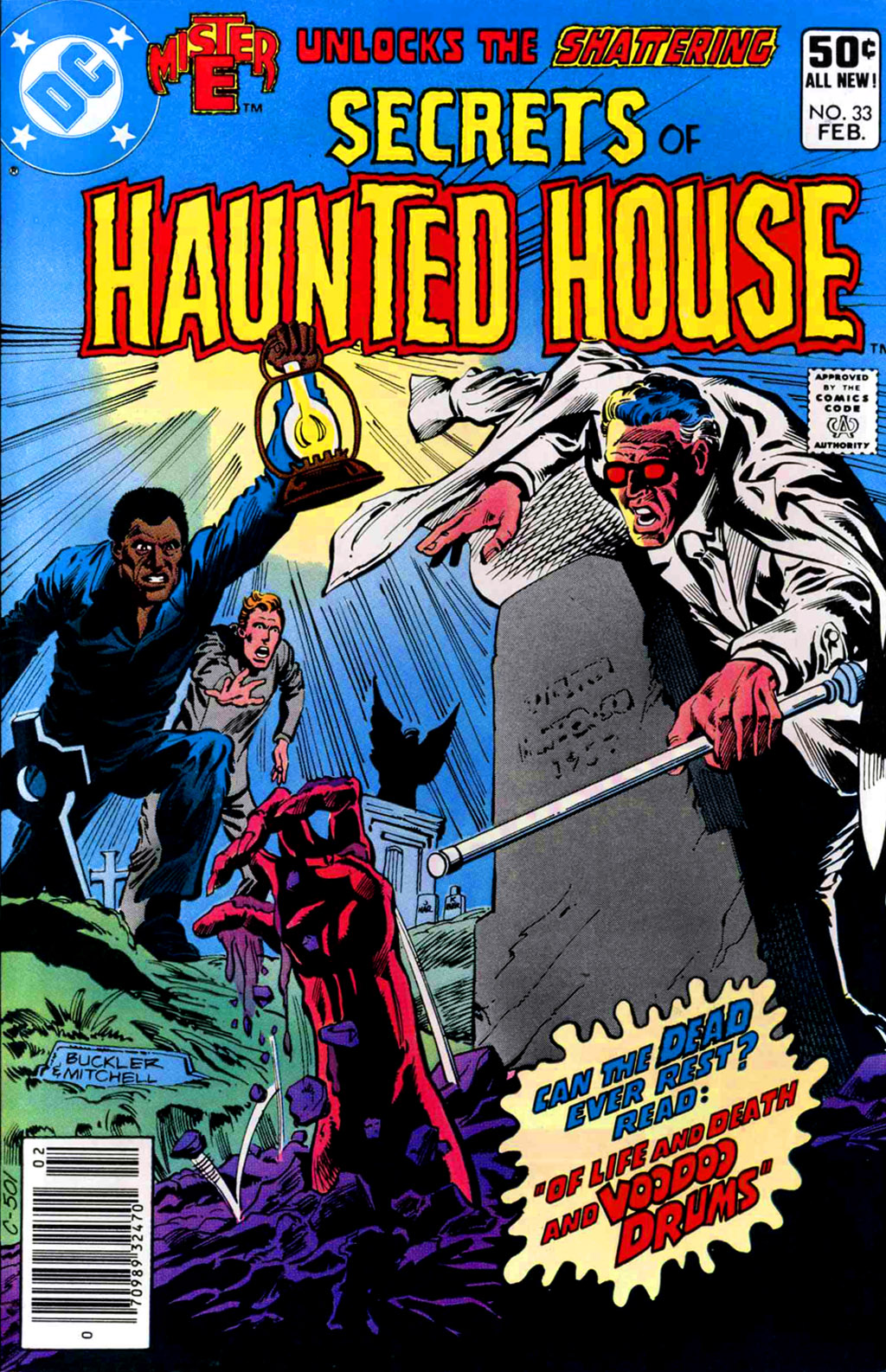 Read online Secrets of Haunted House comic -  Issue #33 - 1