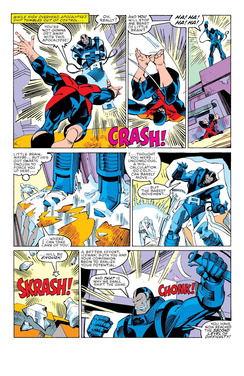 Read online X-Men Milestones: Fall of the Mutants comic -  Issue # TPB (Part 3) - 29