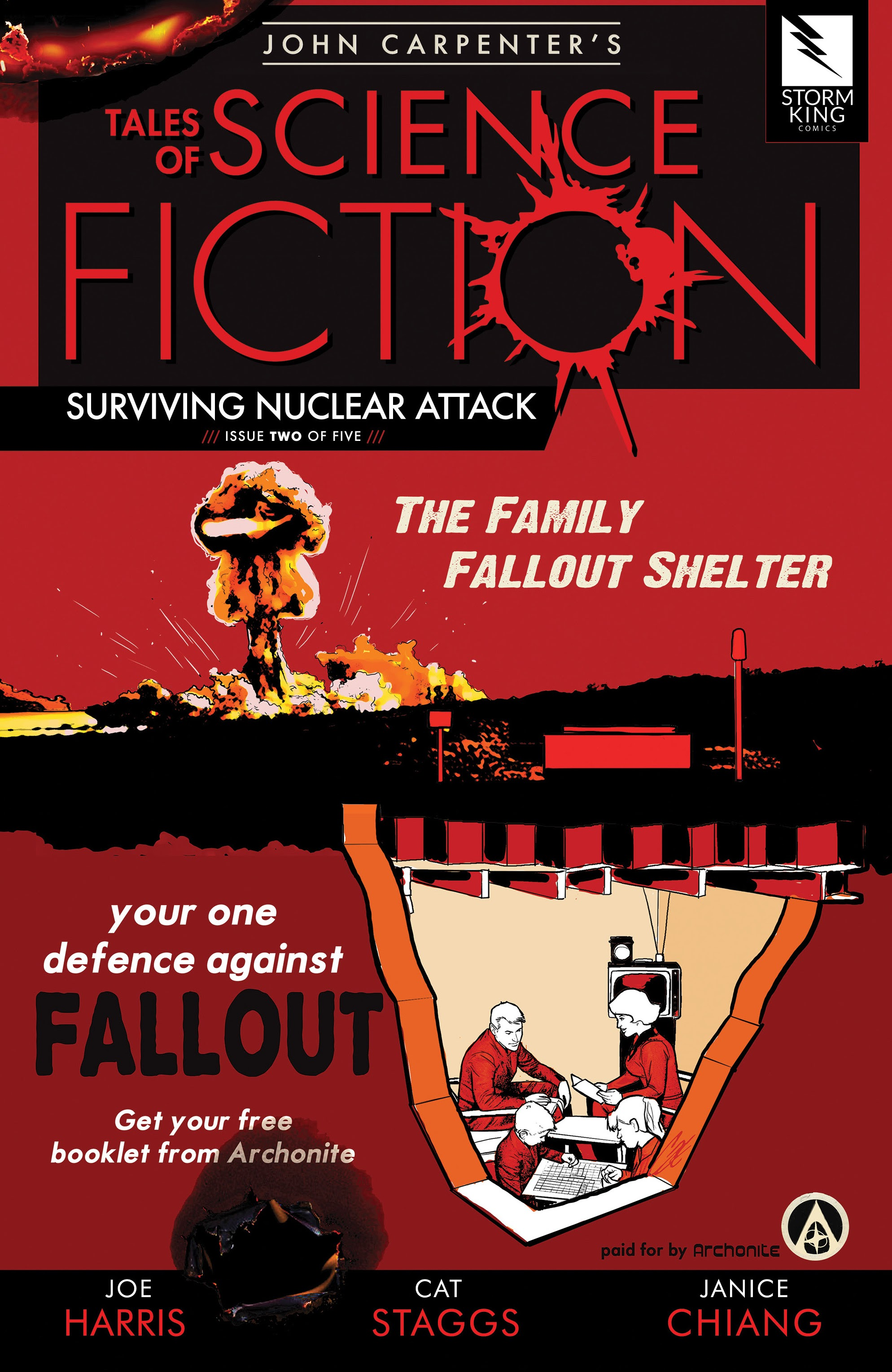 John Carpenter's Tales of Science Fiction: Surviving Nuclear Attack issue 2 - Page 1