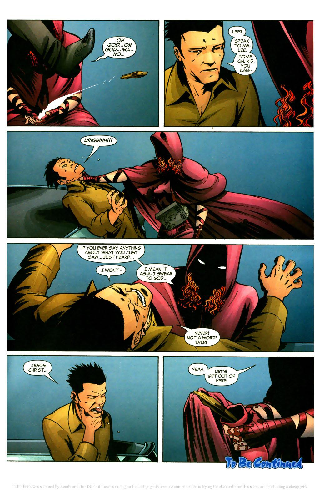 Read online Fallen Angel (2003) comic -  Issue #9 - 23