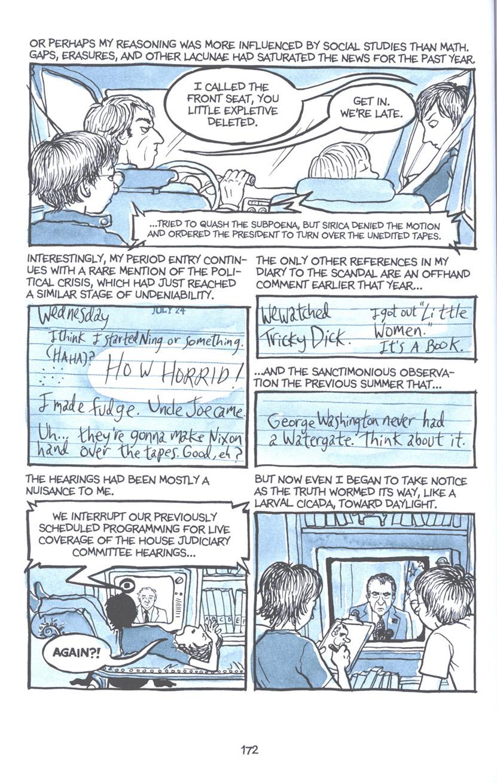 Read online Fun Home: A Family Tragicomic comic -  Issue # TPB - 178