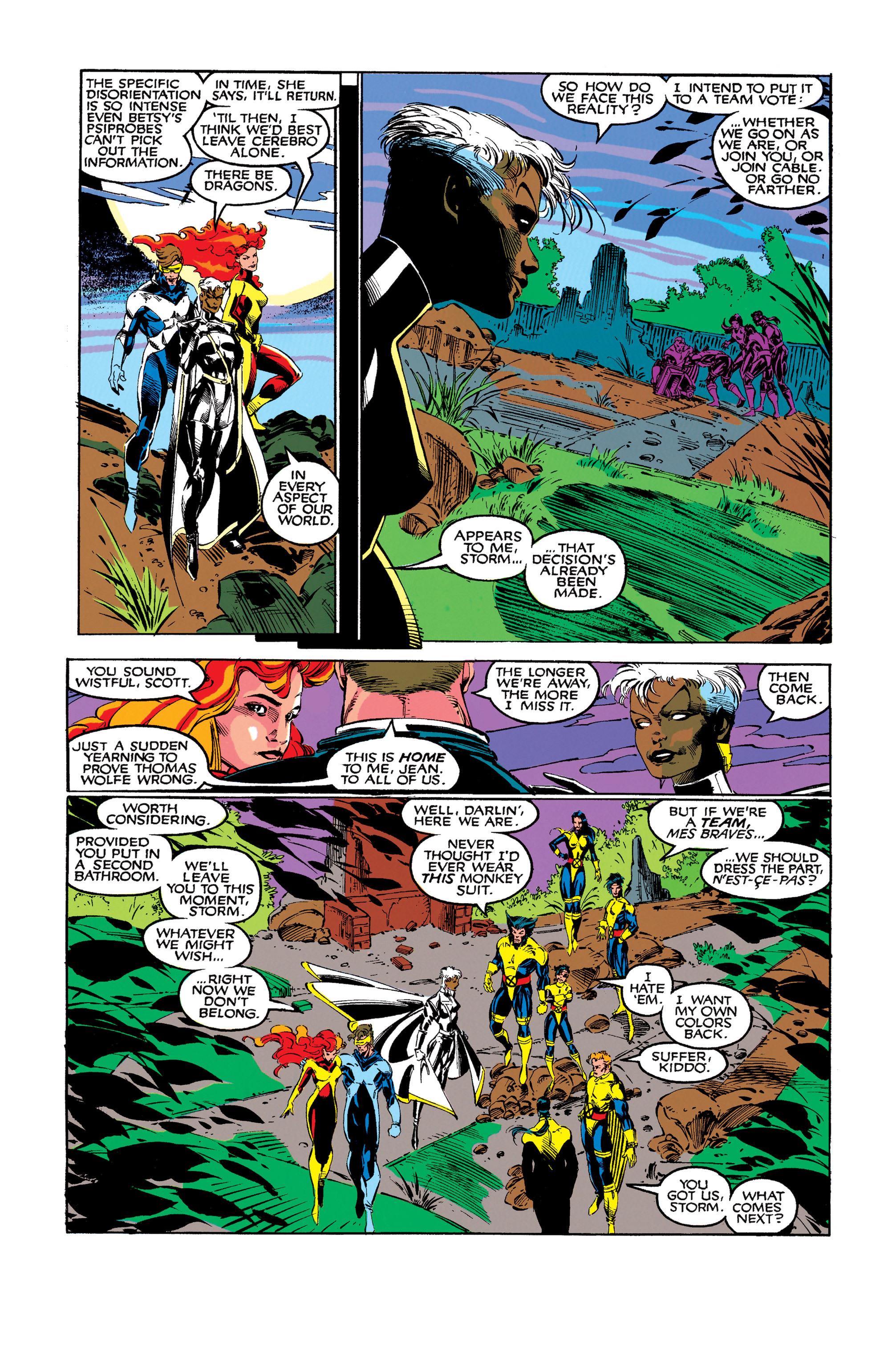 Read online Uncanny X-Men (1963) comic -  Issue #273 - 23