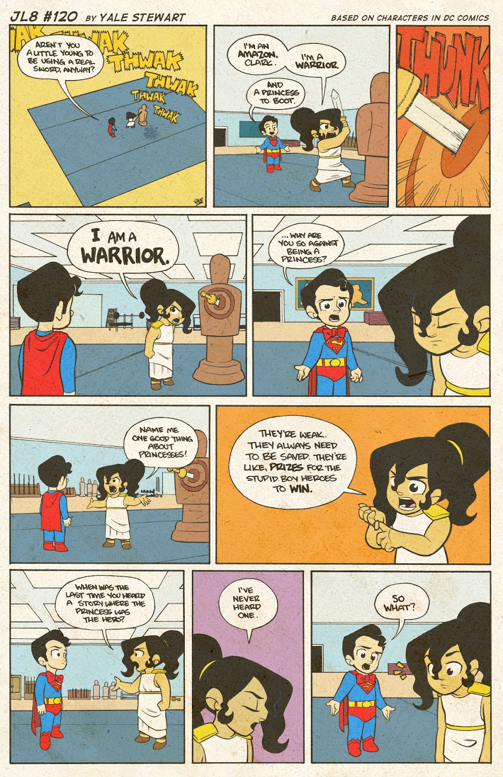 Read online JL8 – The Complete Collection comic -  Issue # TPB (Part 1) - 62