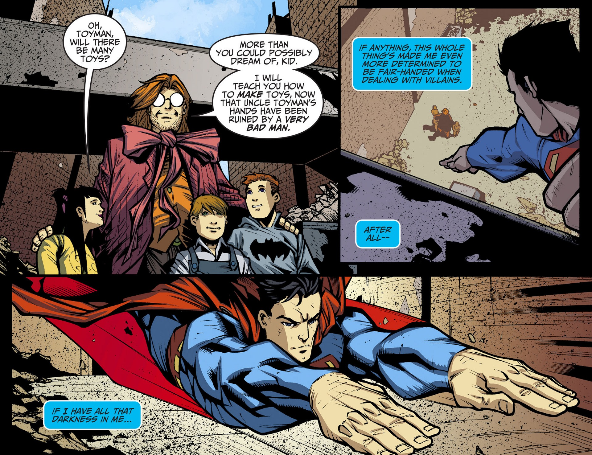 Read online Adventures of Superman [I] comic -  Issue #36 - 21