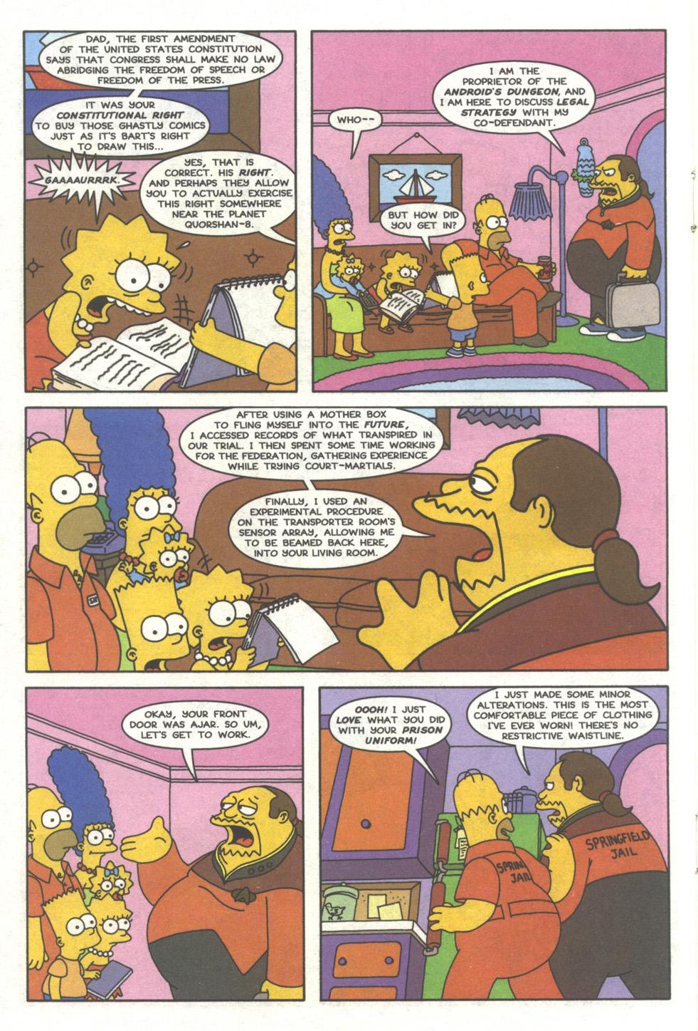 Read online Simpsons Comics comic -  Issue #39 - 15