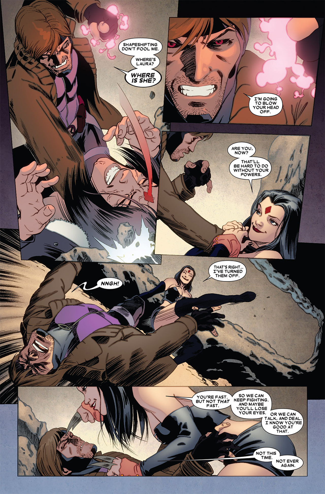 Read online X-23 (2010) comic -  Issue #5 - 21