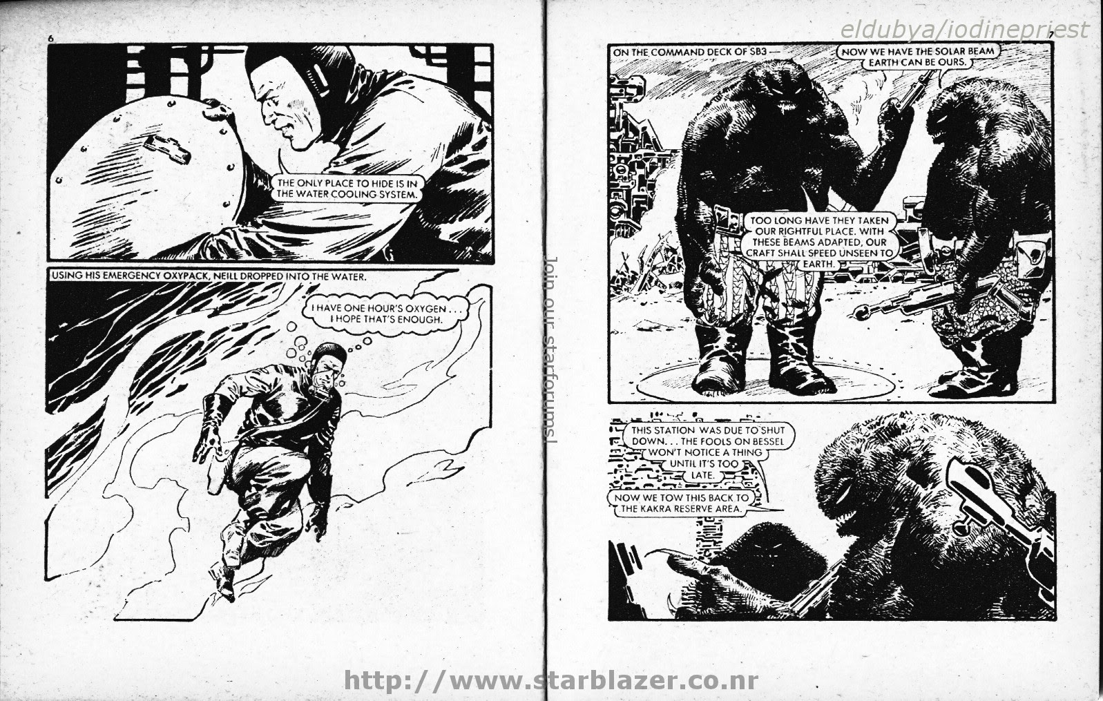 Starblazer issue 59 - Page 5