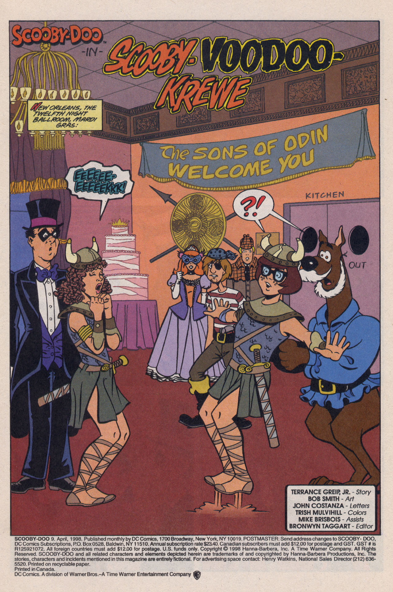 Read online Scooby-Doo (1997) comic -  Issue #9 - 4