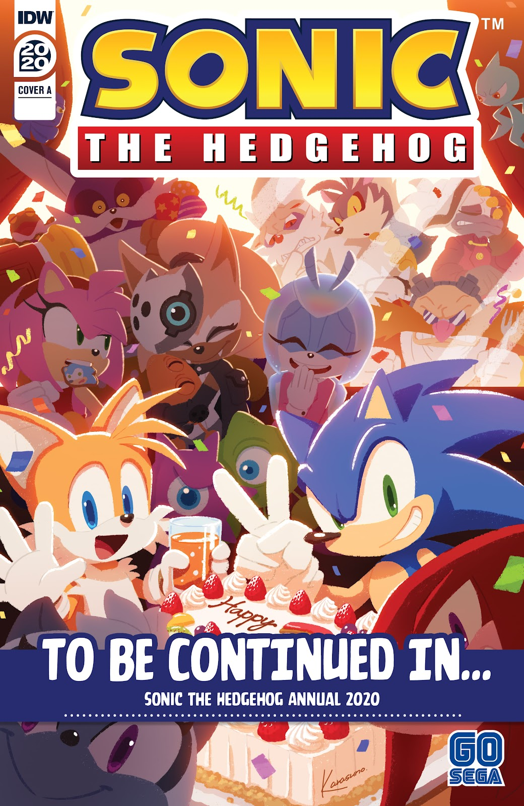 Sonic the Hedgehog (2018) issue 36 - Page 38