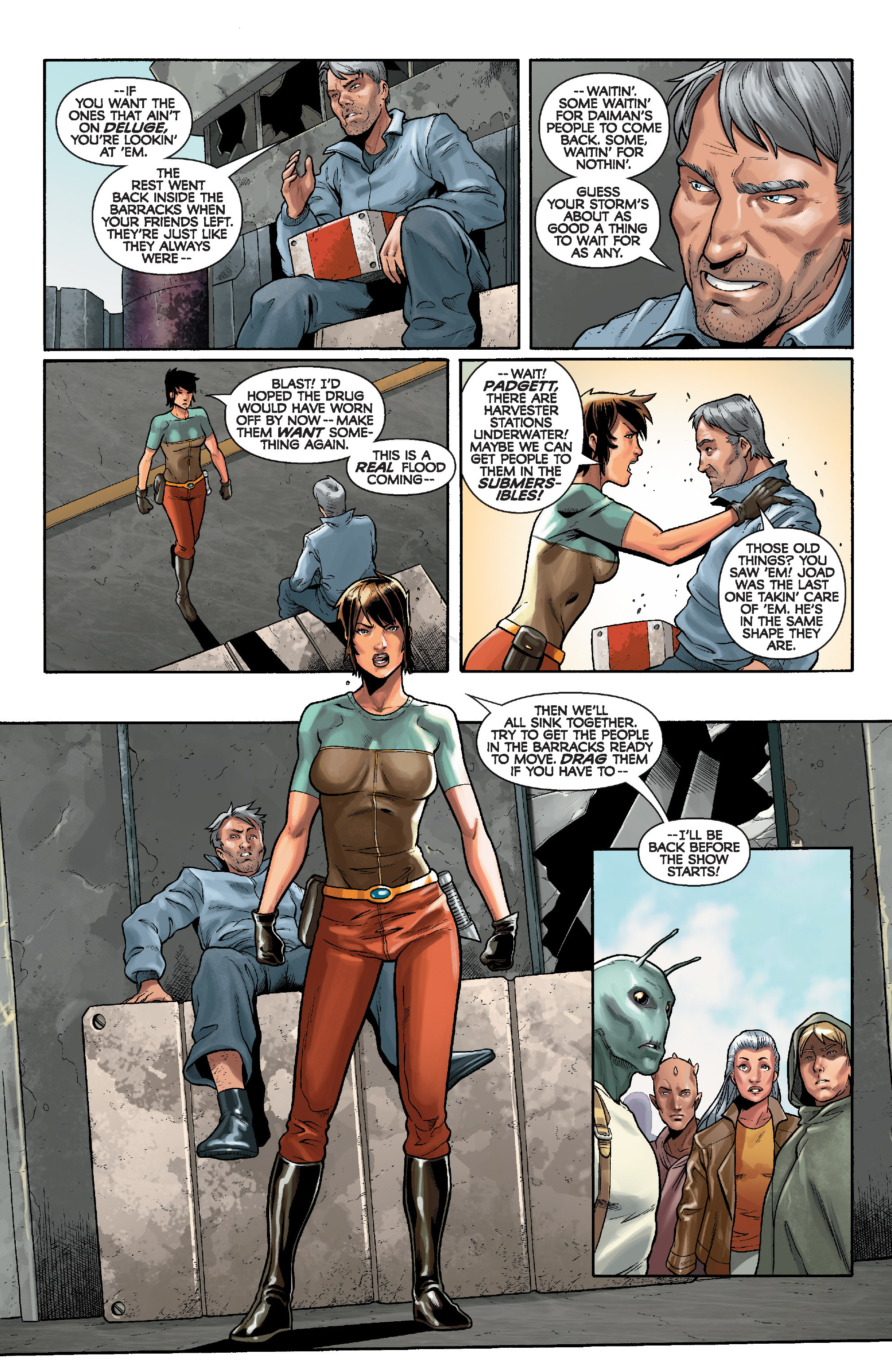 Read online Star Wars: Knight Errant - Deluge comic -  Issue #3 - 10