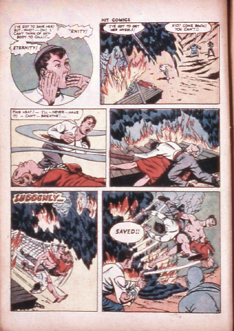 Read online Hit Comics comic -  Issue #33 - 16