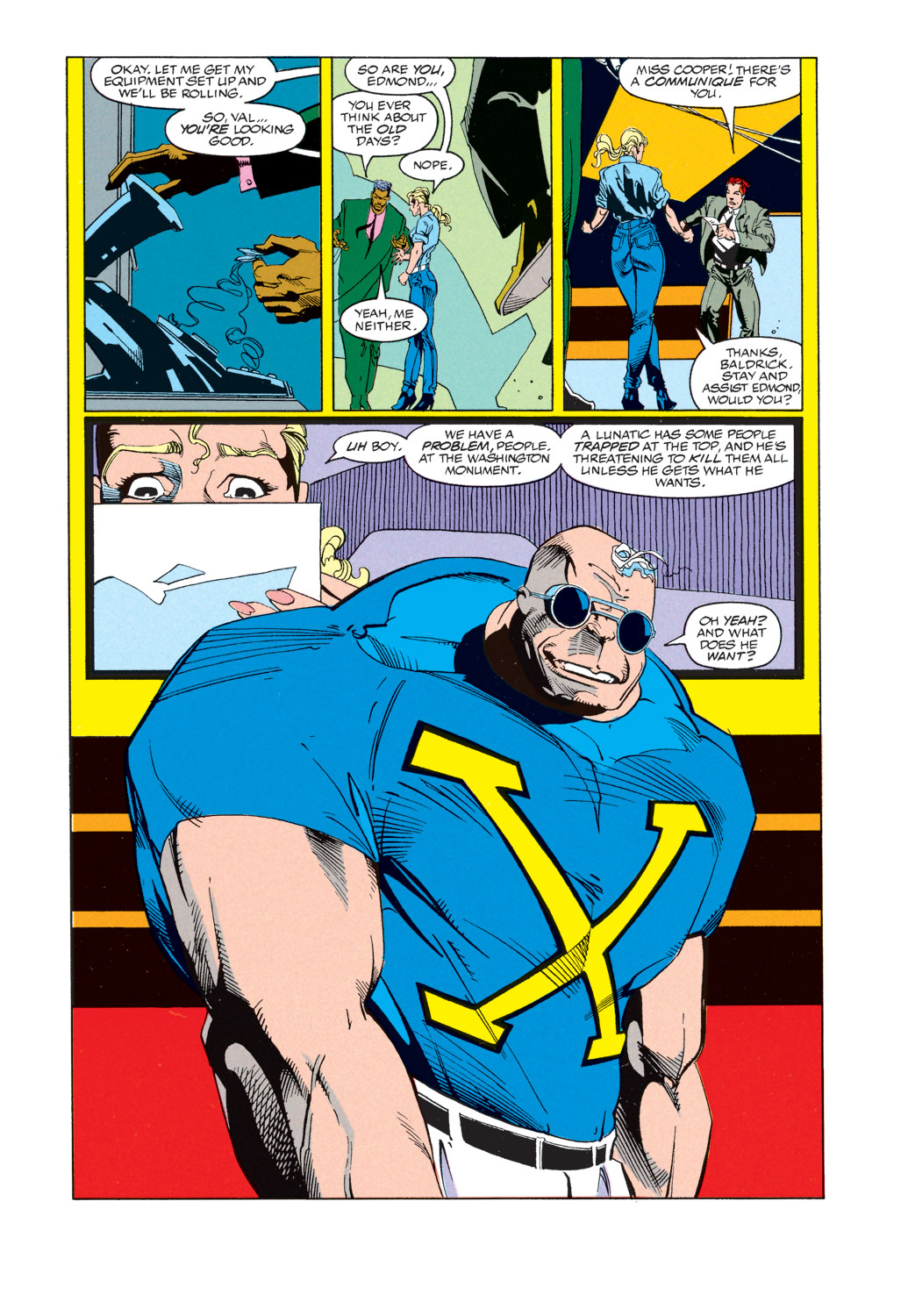 Read online X-Factor (1986) comic -  Issue #74 - 10
