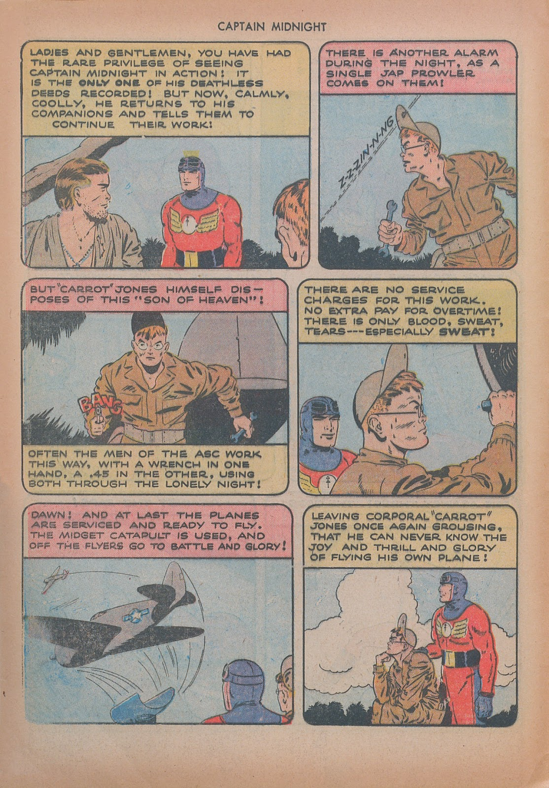 Captain Midnight (1942) issue 20 - Page 12