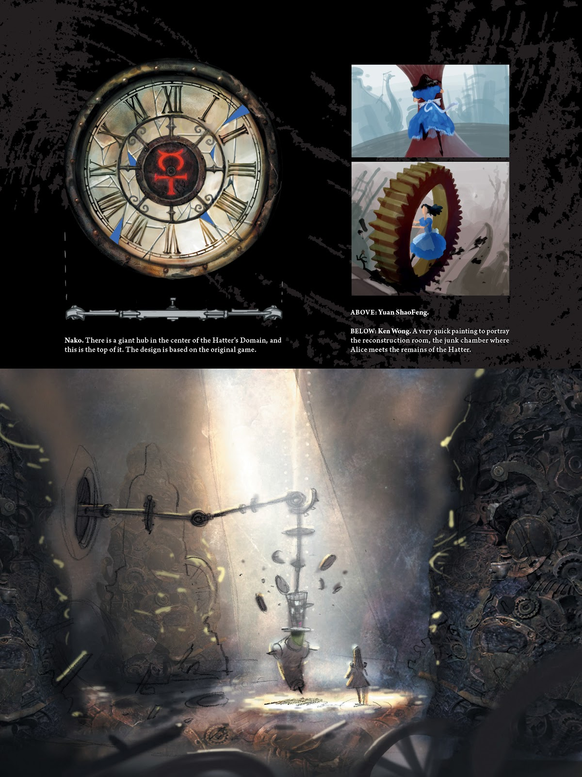 Read online The Art of Alice: Madness Returns comic -  Issue # TPB (Part 1) - 75
