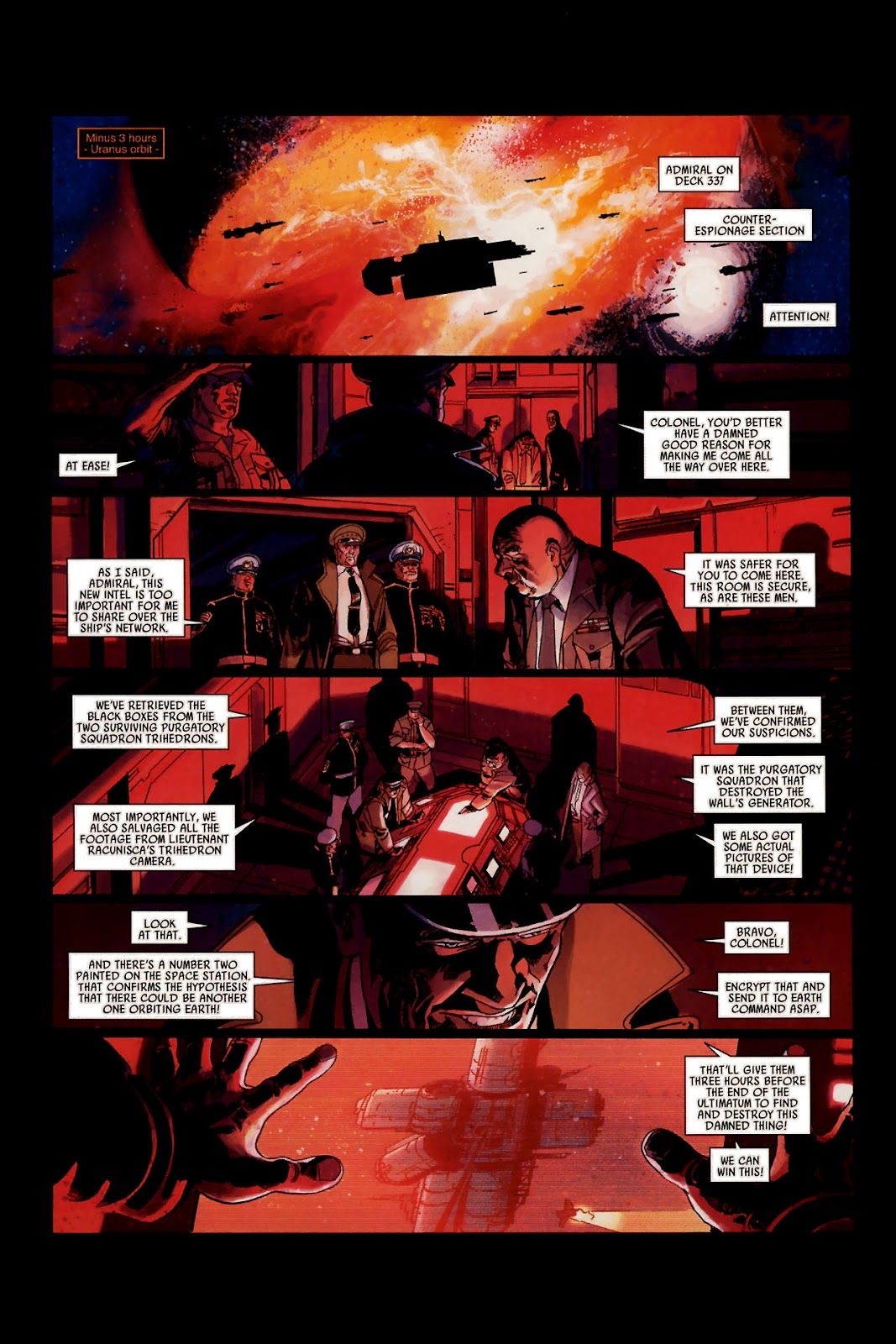 Read online Universal War One: Revelations comic -  Issue #1 - 24