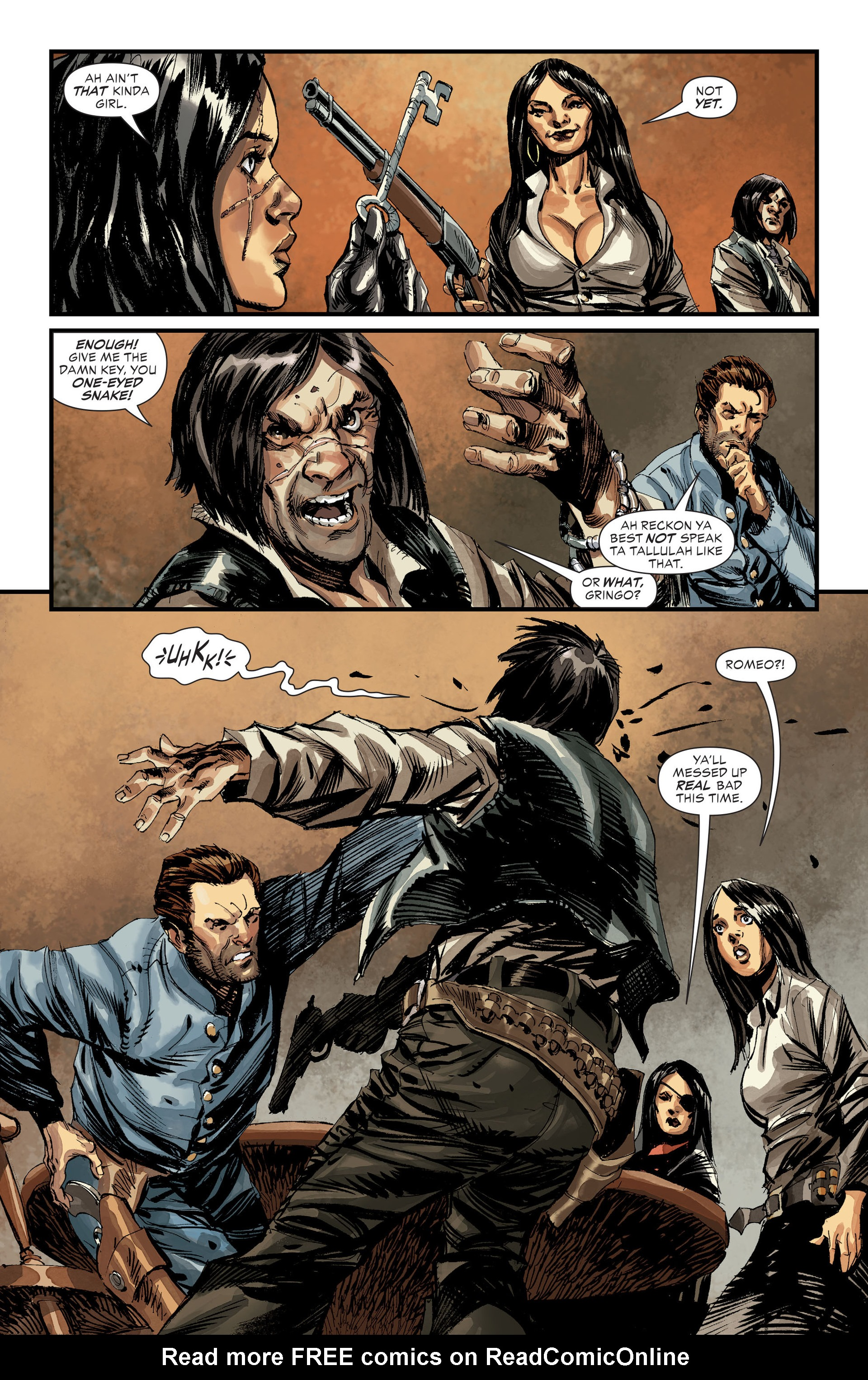 Read online All-Star Western (2011) comic -  Issue #31 - 3