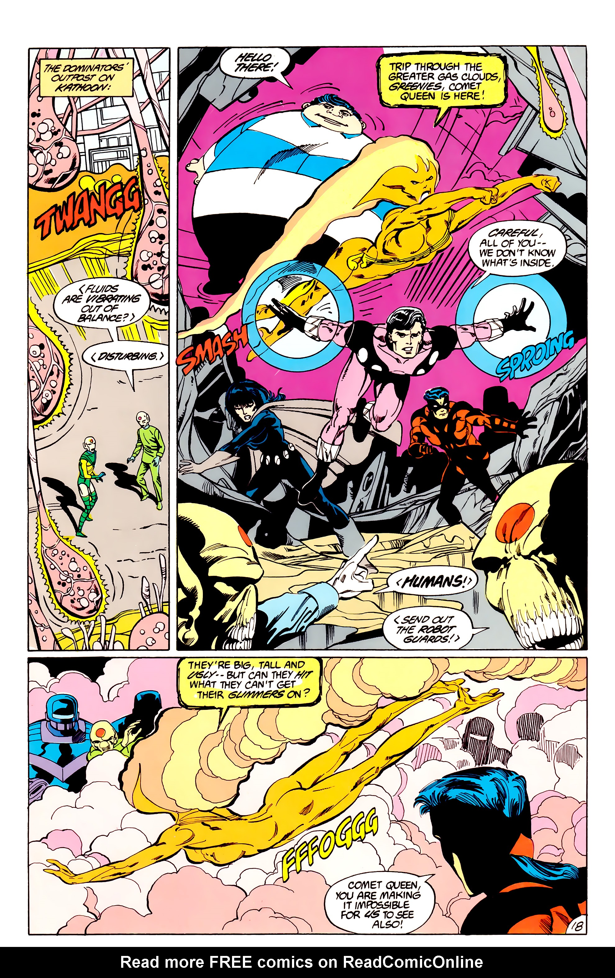 Legion of Super-Heroes (1984) _Annual_3 Page 18