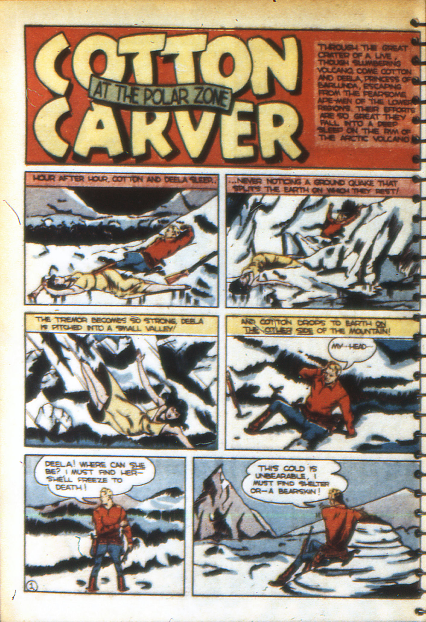 Read online Adventure Comics (1938) comic -  Issue #49 - 60