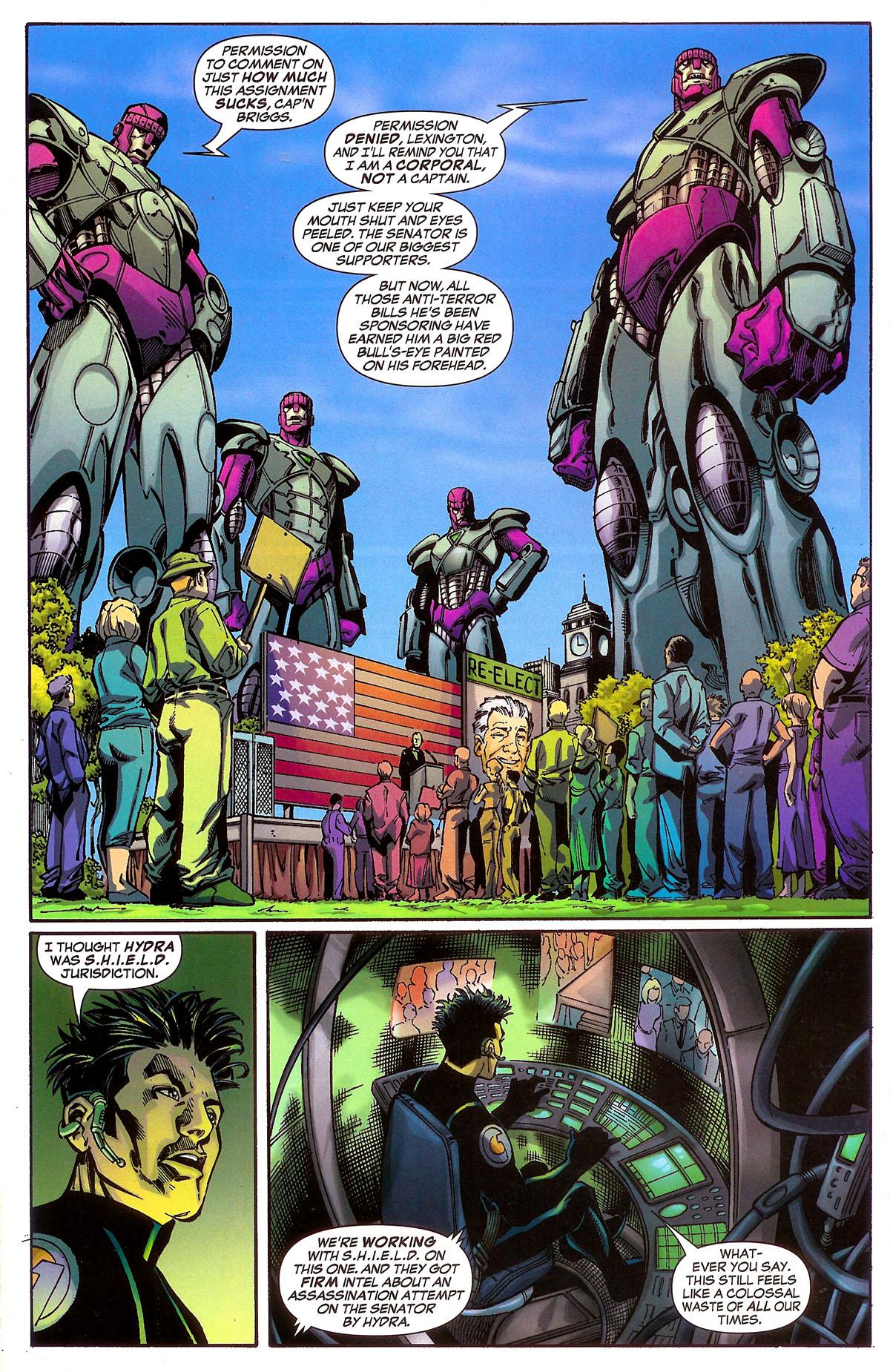 Read online Sentinel Squad O*N*E comic -  Issue #2 - 13