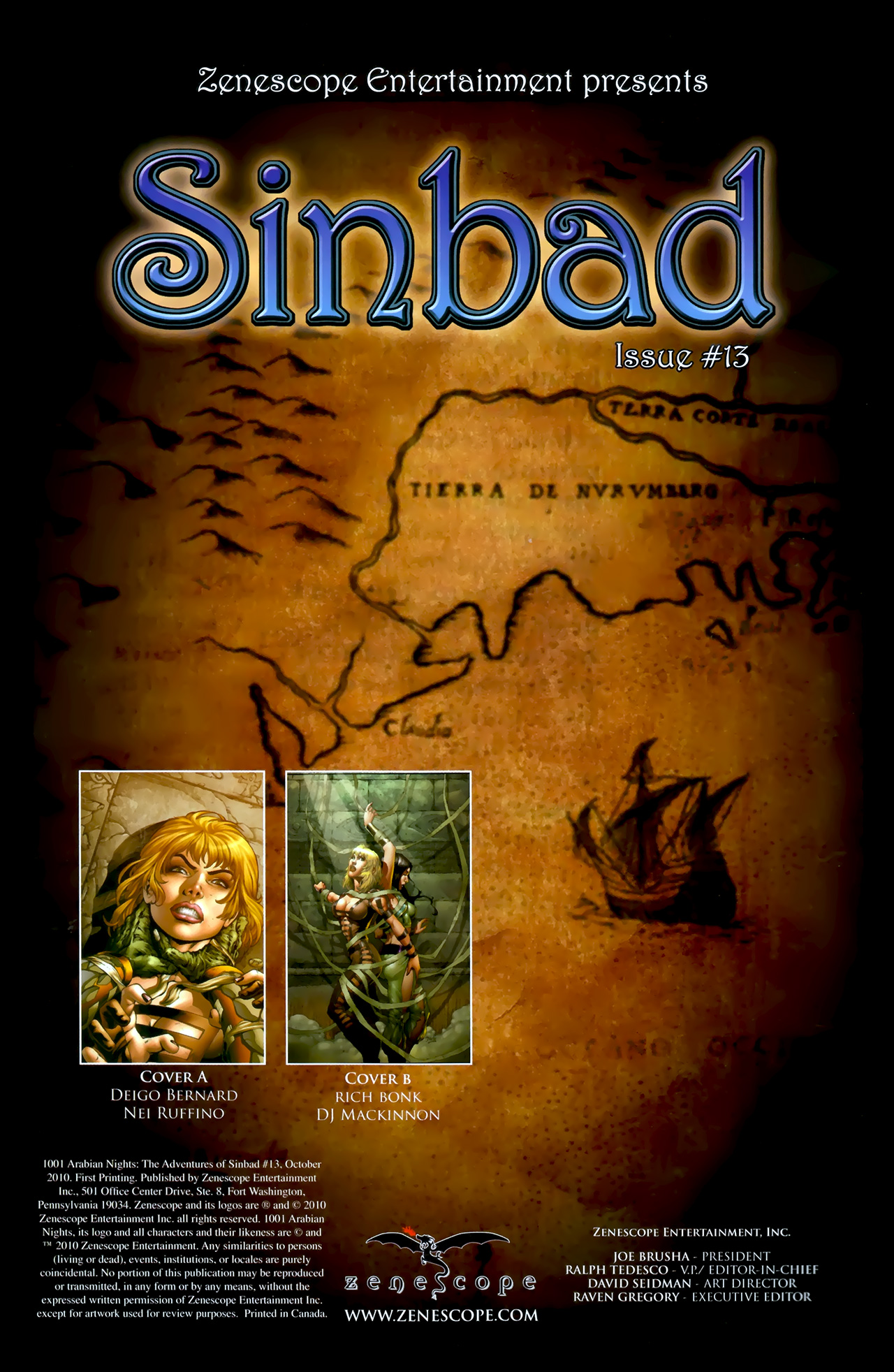 Read online 1001 Arabian Nights: The Adventures of Sinbad comic -  Issue #13 - 2