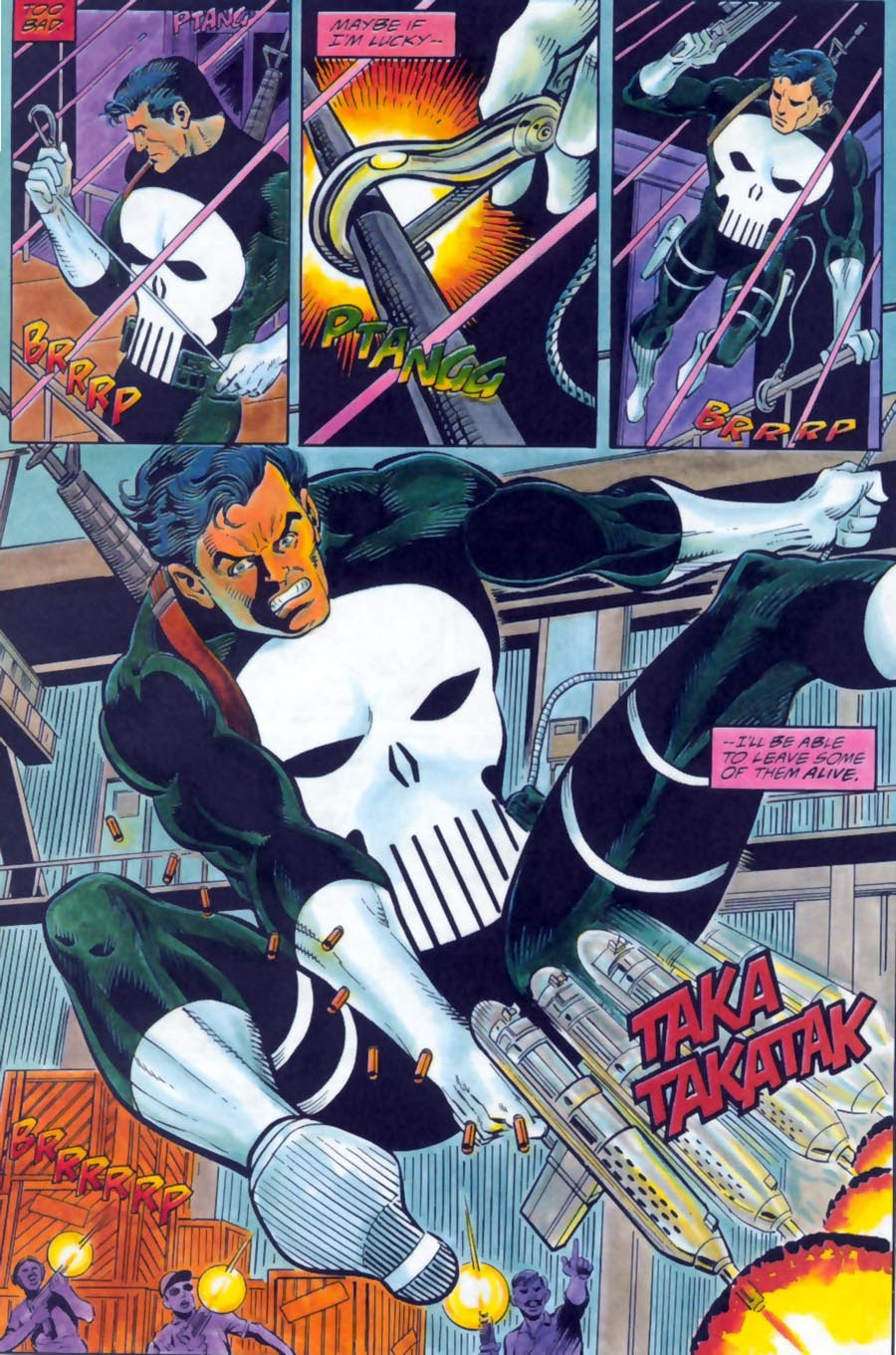 Read online Punisher Bloodlines comic -  Issue # Full - 31
