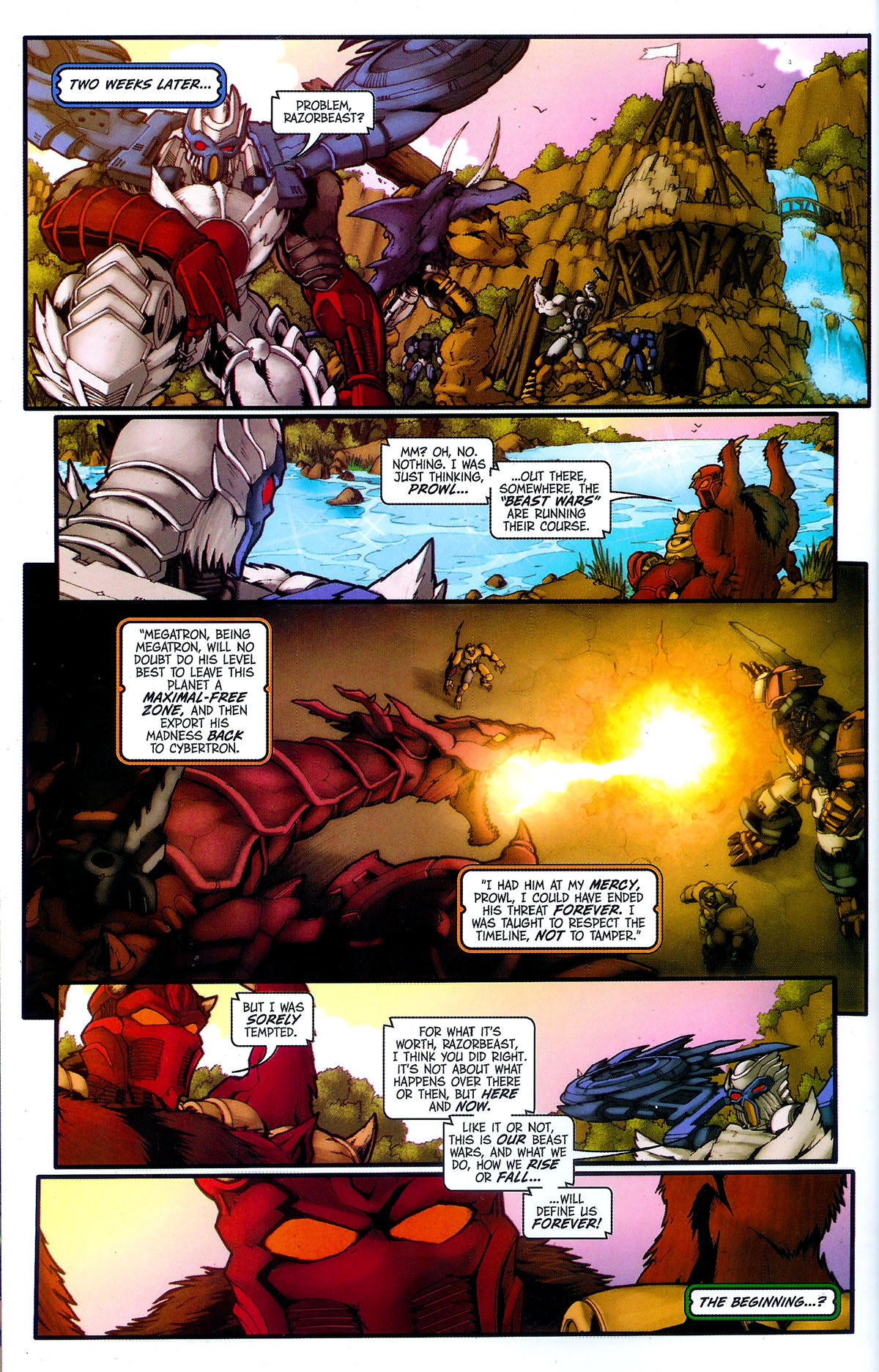 Read online Transformers, Beast Wars: The Gathering comic -  Issue #4 - 26