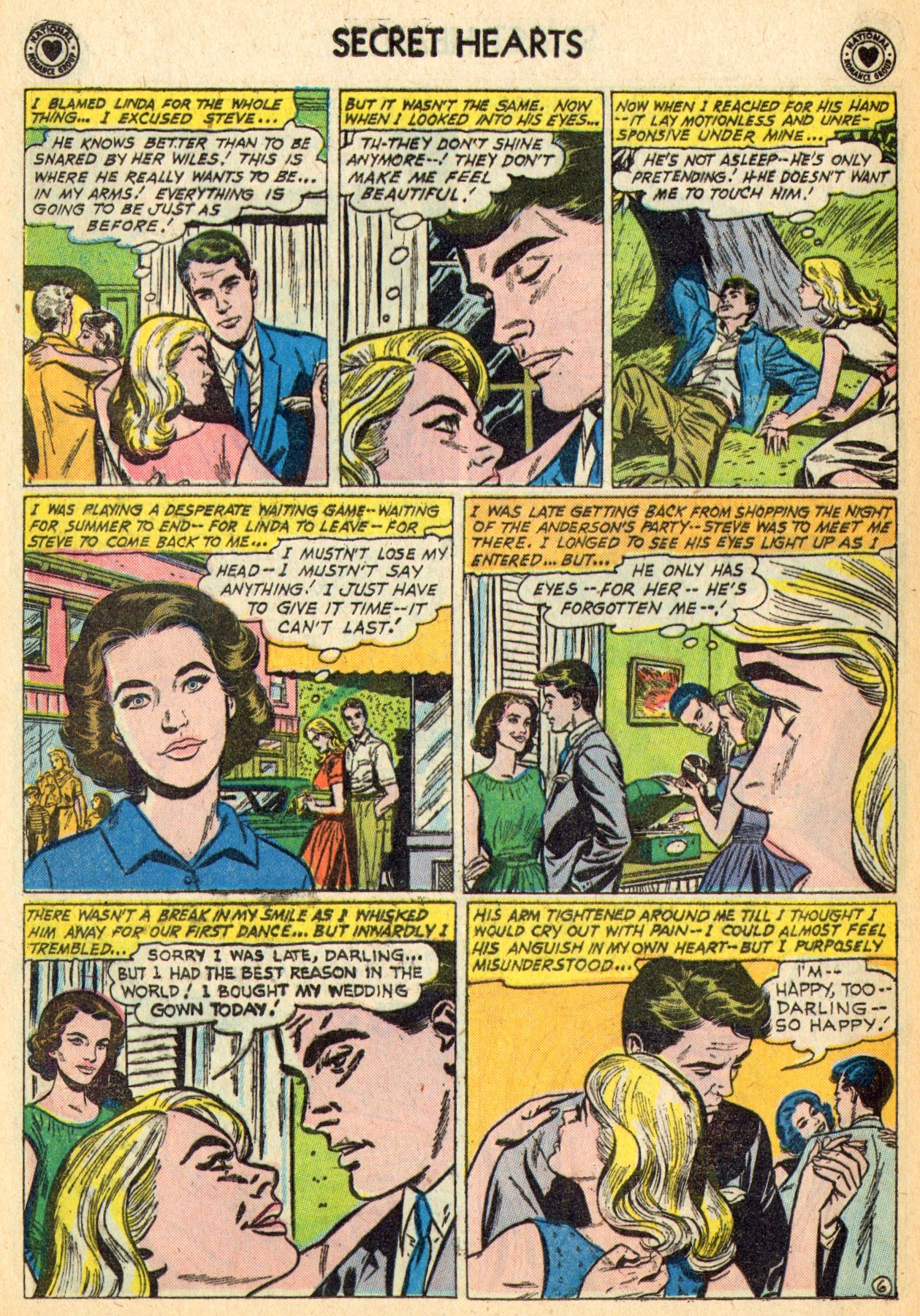 Read online Secret Hearts comic -  Issue #70 - 8