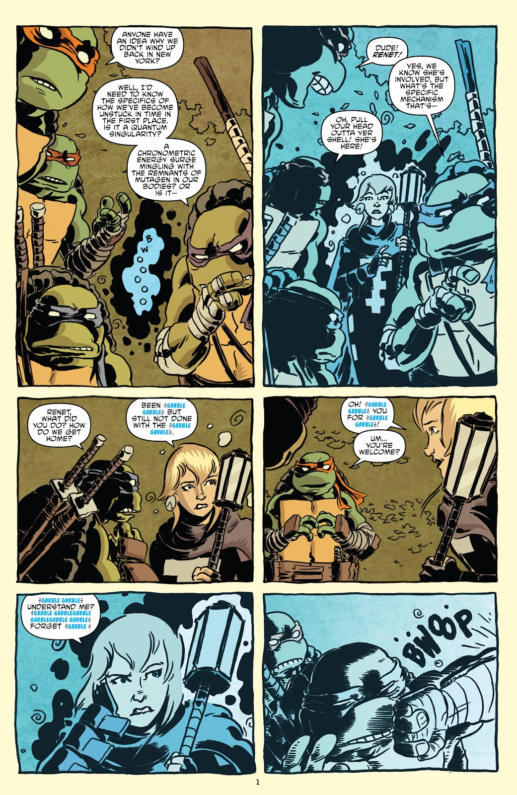 Read online Teenage Mutant Ninja Turtles: The IDW Collection comic -  Issue # TPB 5 (Part 1) - 32