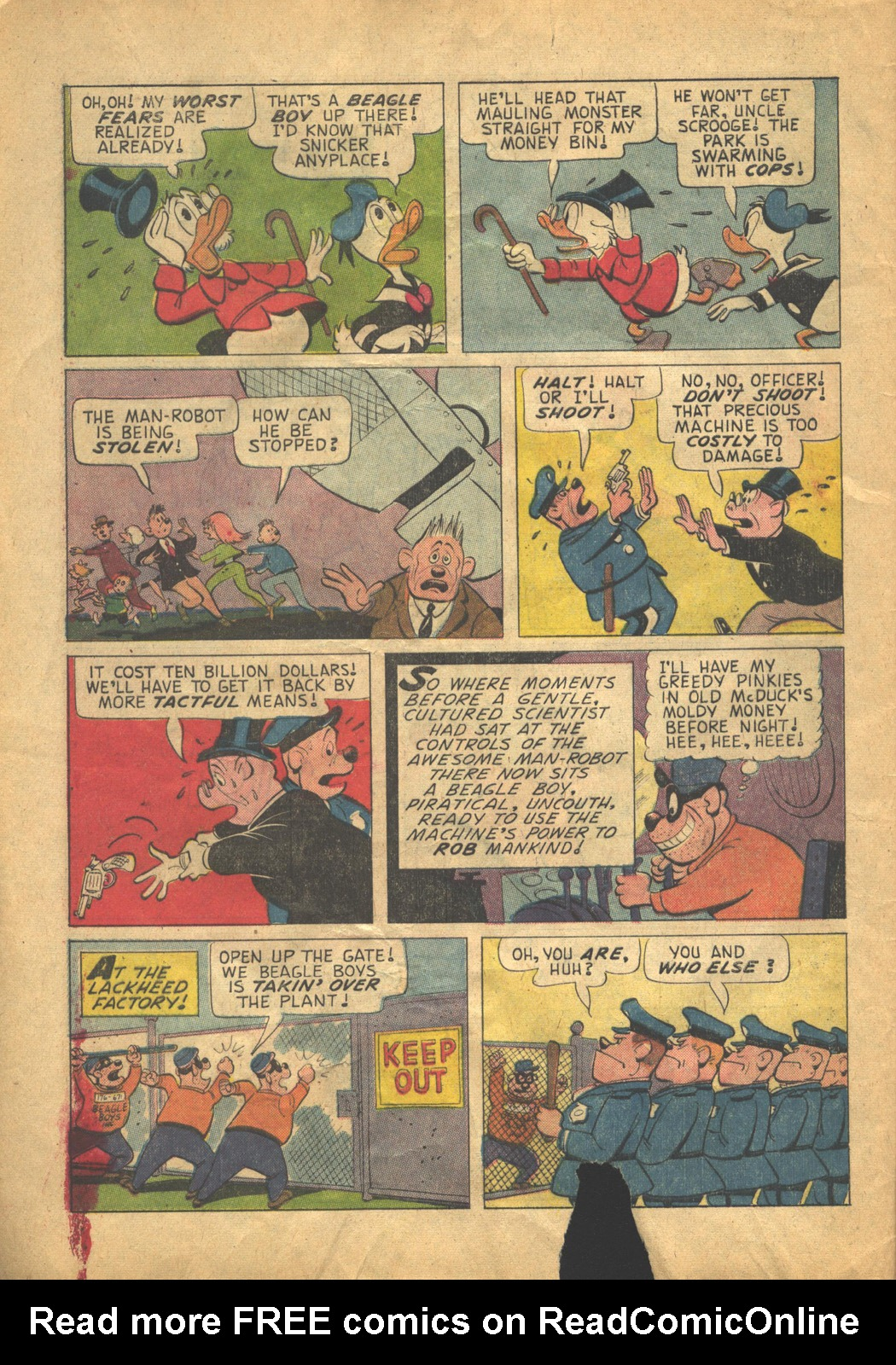 Read online Uncle Scrooge (1953) comic -  Issue #58 - 8